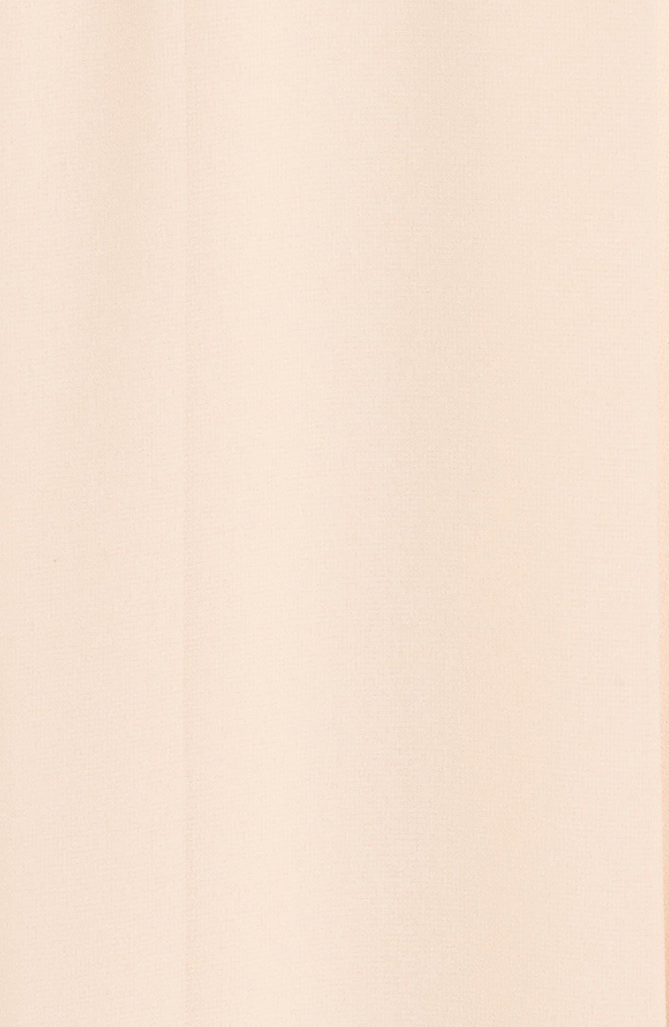 Chiffon Strapless Maxi Dress,                             Alternate thumbnail 5, color,                             Blush