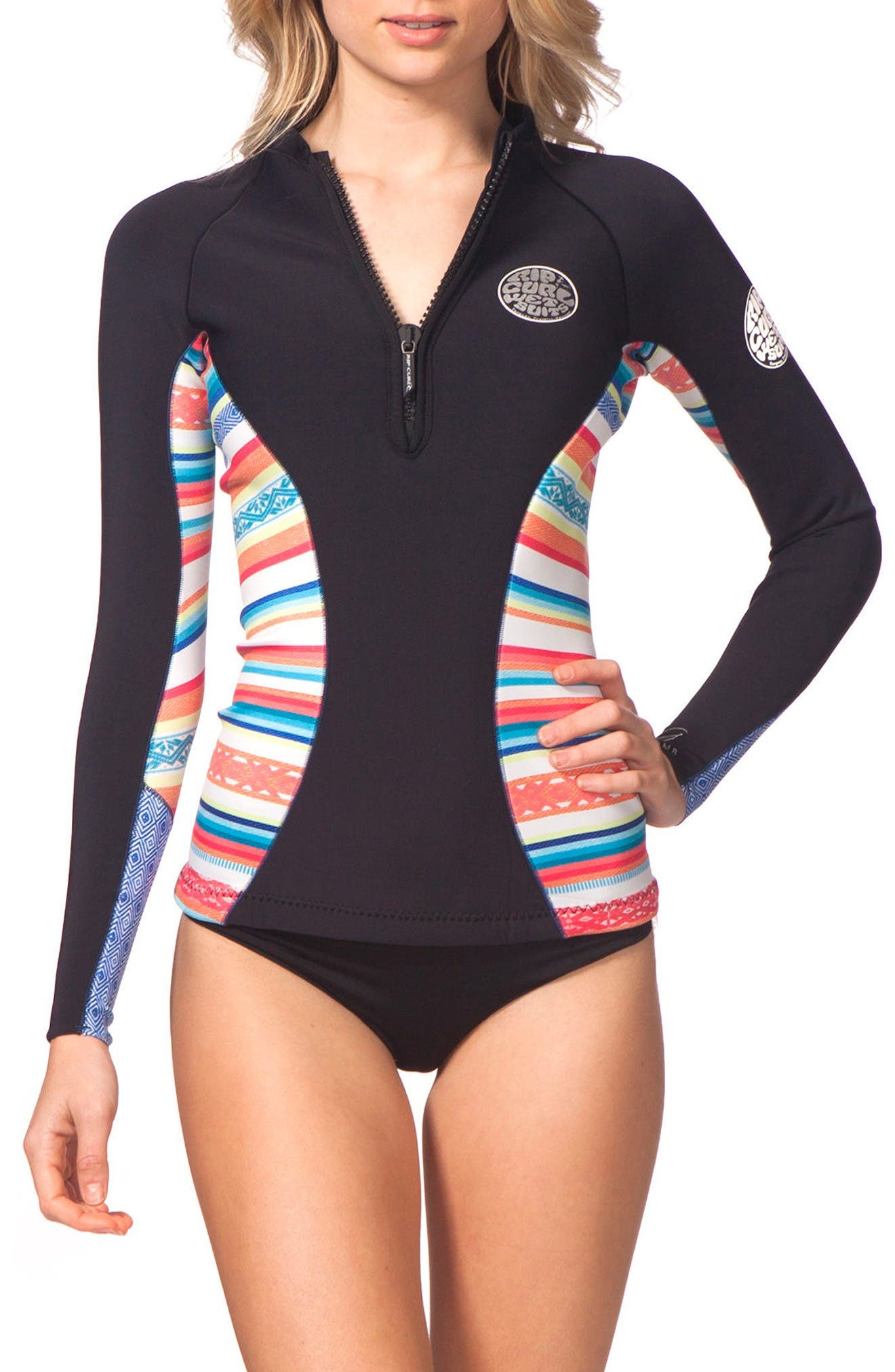 Alternate Image 1 Selected - Rip Curl G-Bomb Wetsuit Jacket