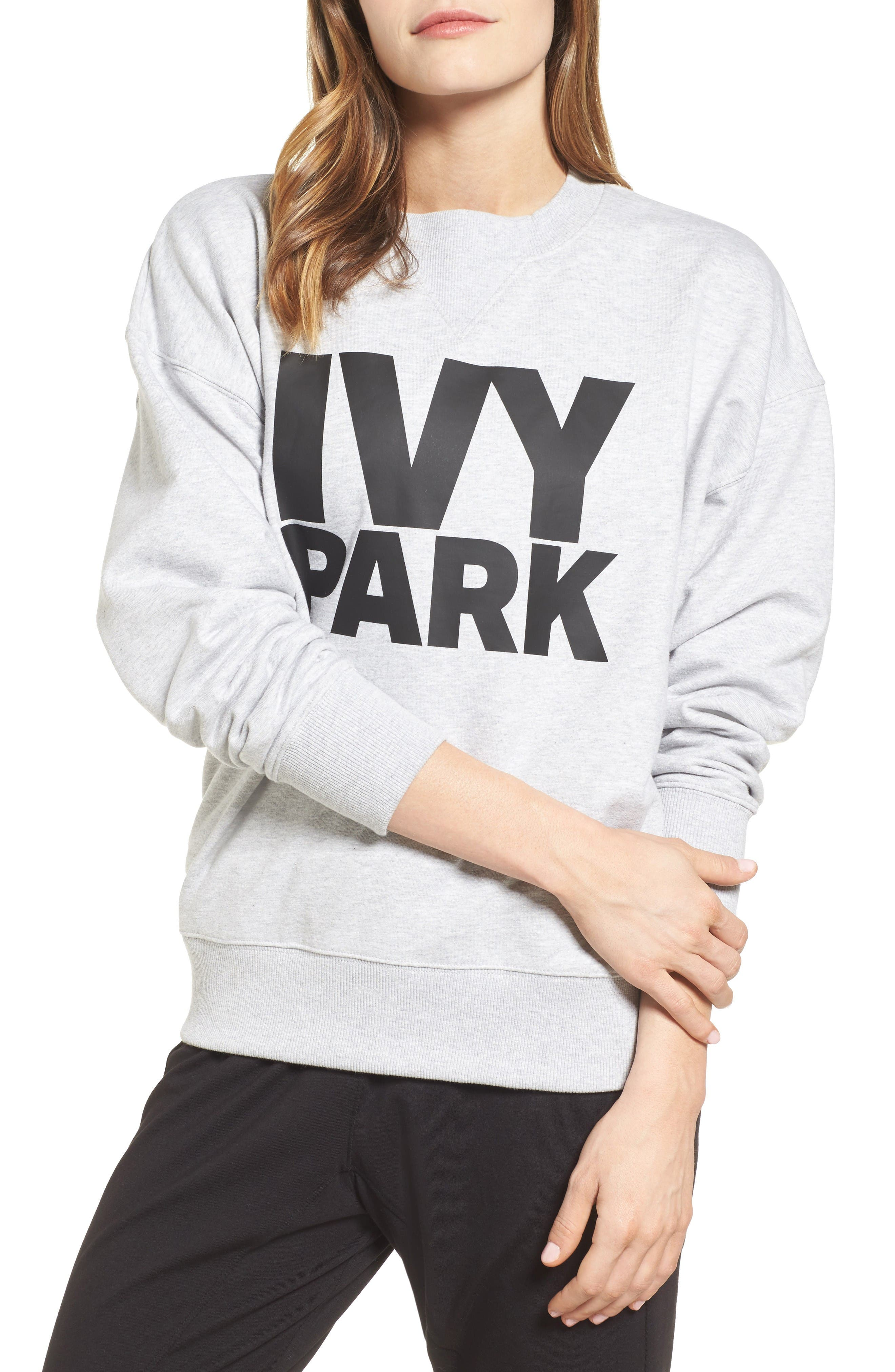 Alternate Image 1 Selected - IVY PARK® Logo Sweatshirt