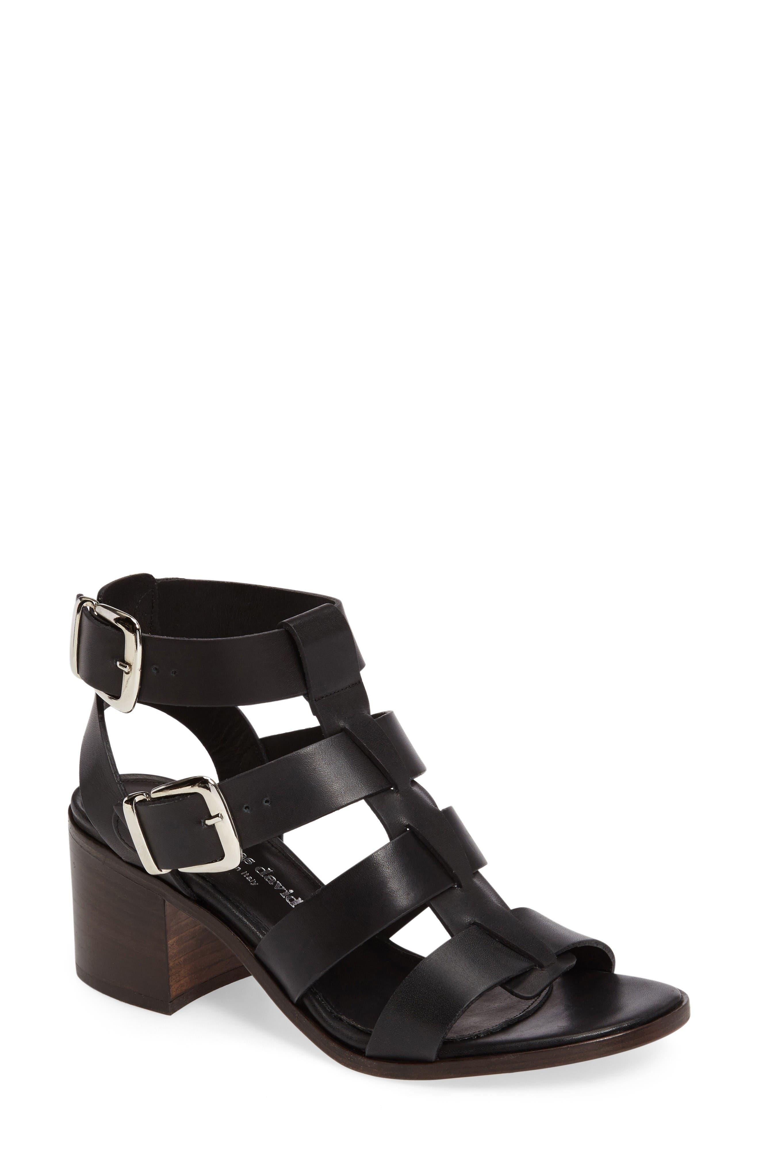 Alternate Image 1 Selected - Charles David Bronson Block Heel Sandal (Women)