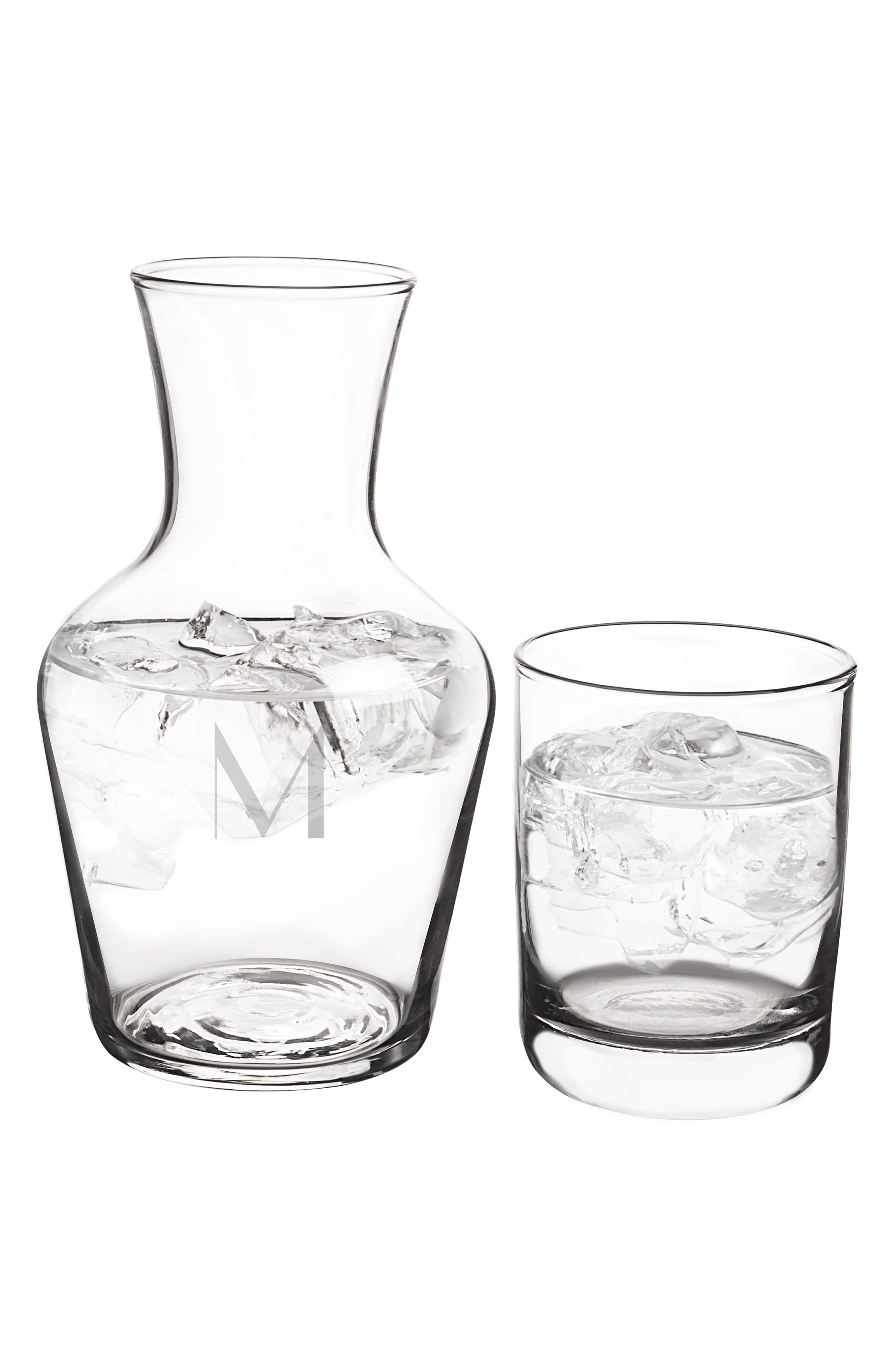Alternate Image 2  - Cathy's Concepts Bedside Water Carafe & Glass Set