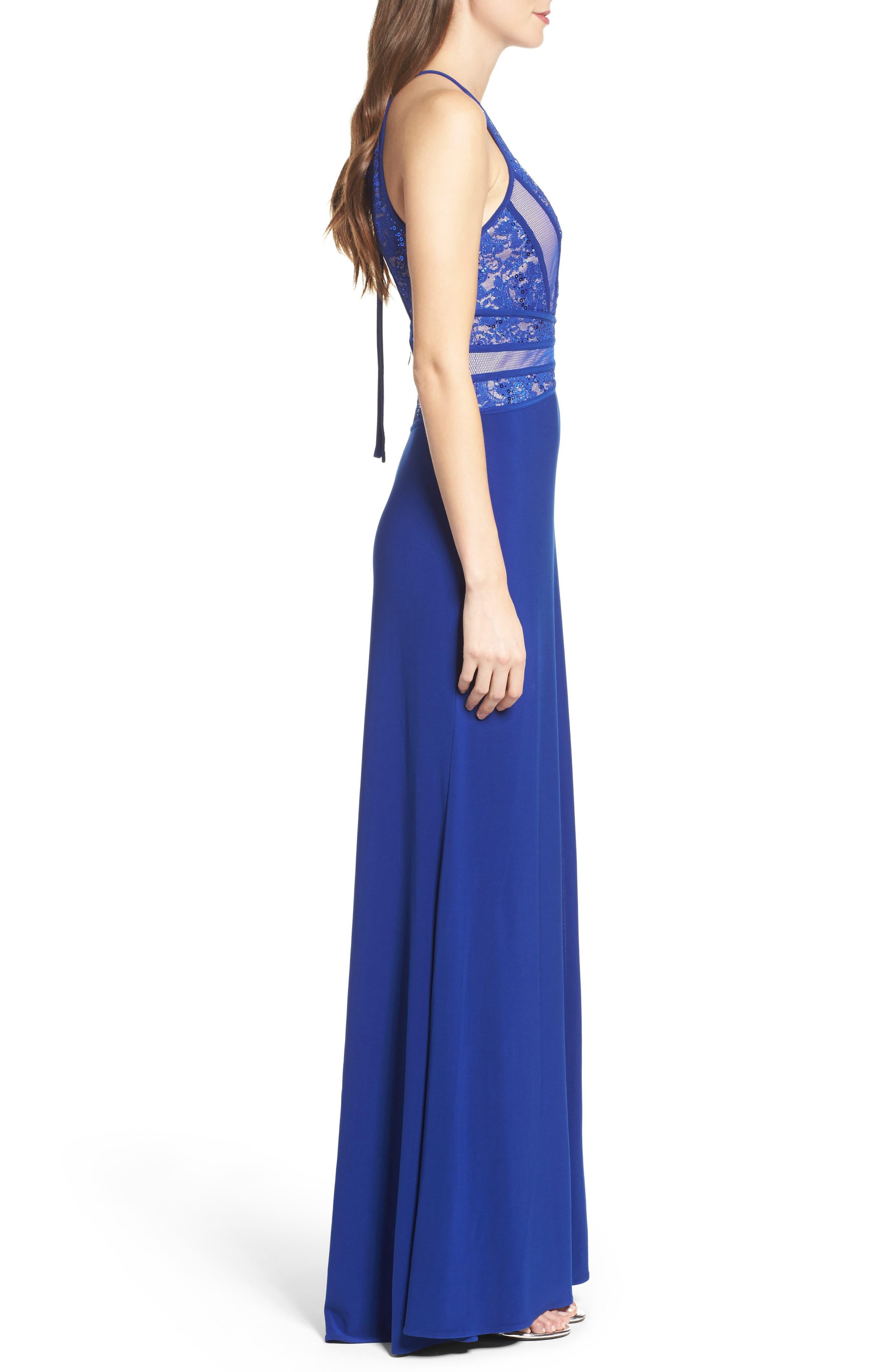 Alternate Image 3  - Morgan & Co. Embellished Gown