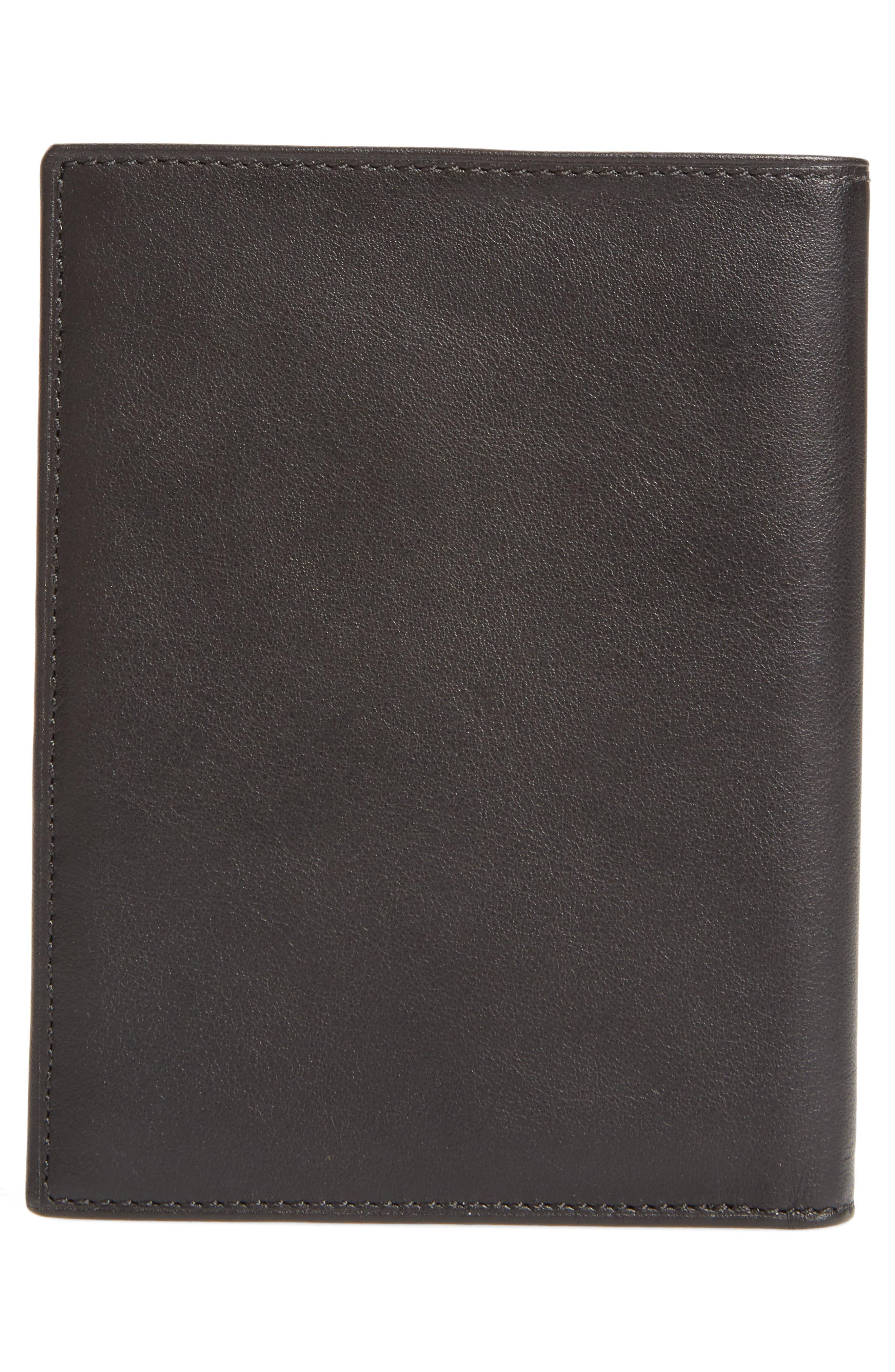 Delta Passport Case,                             Alternate thumbnail 3, color,                             Black