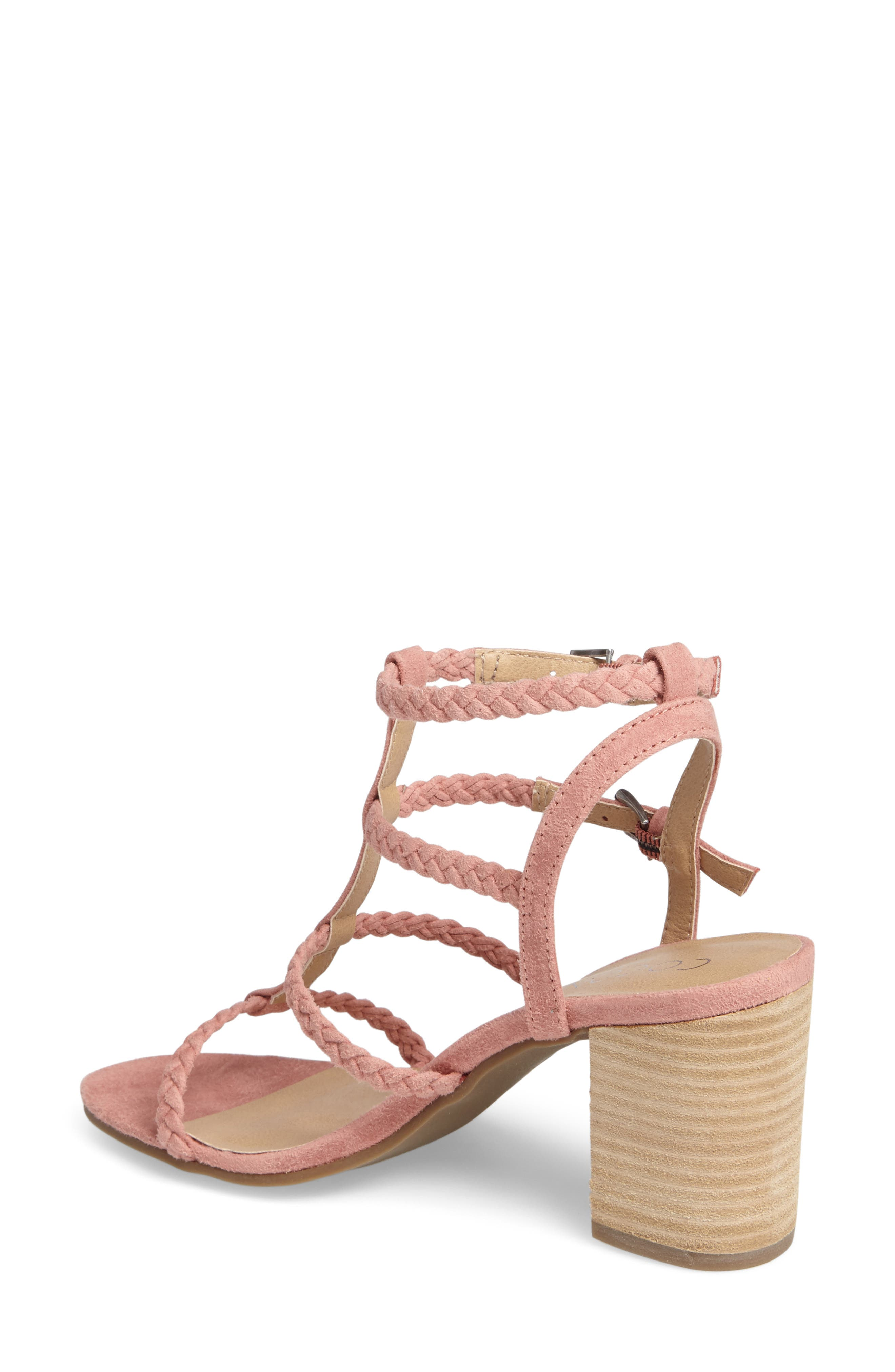 Coconuts by Matisse Cora Sandal,                             Alternate thumbnail 2, color,                             Pink Suede