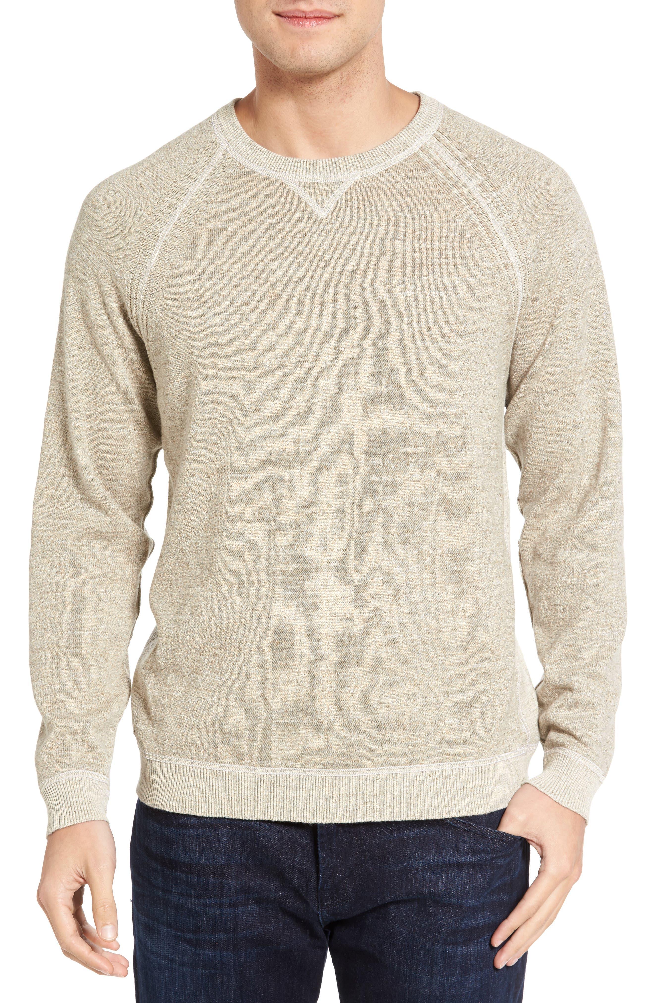 Alternate Image 4  - Tommy Bahama Sandy Bay Reversible Crewneck Sweater