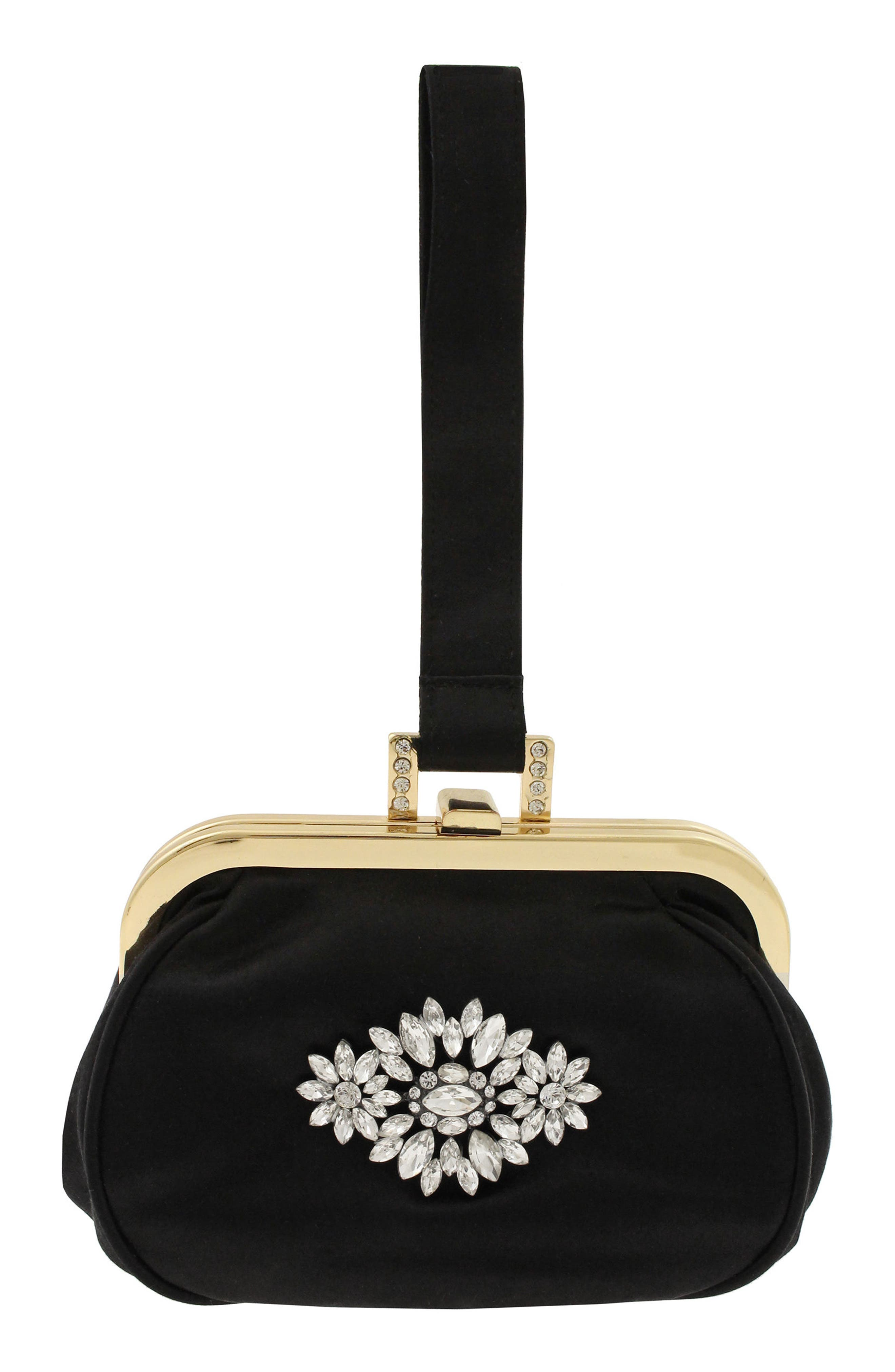 Addison Clutch,                         Main,                         color, Black