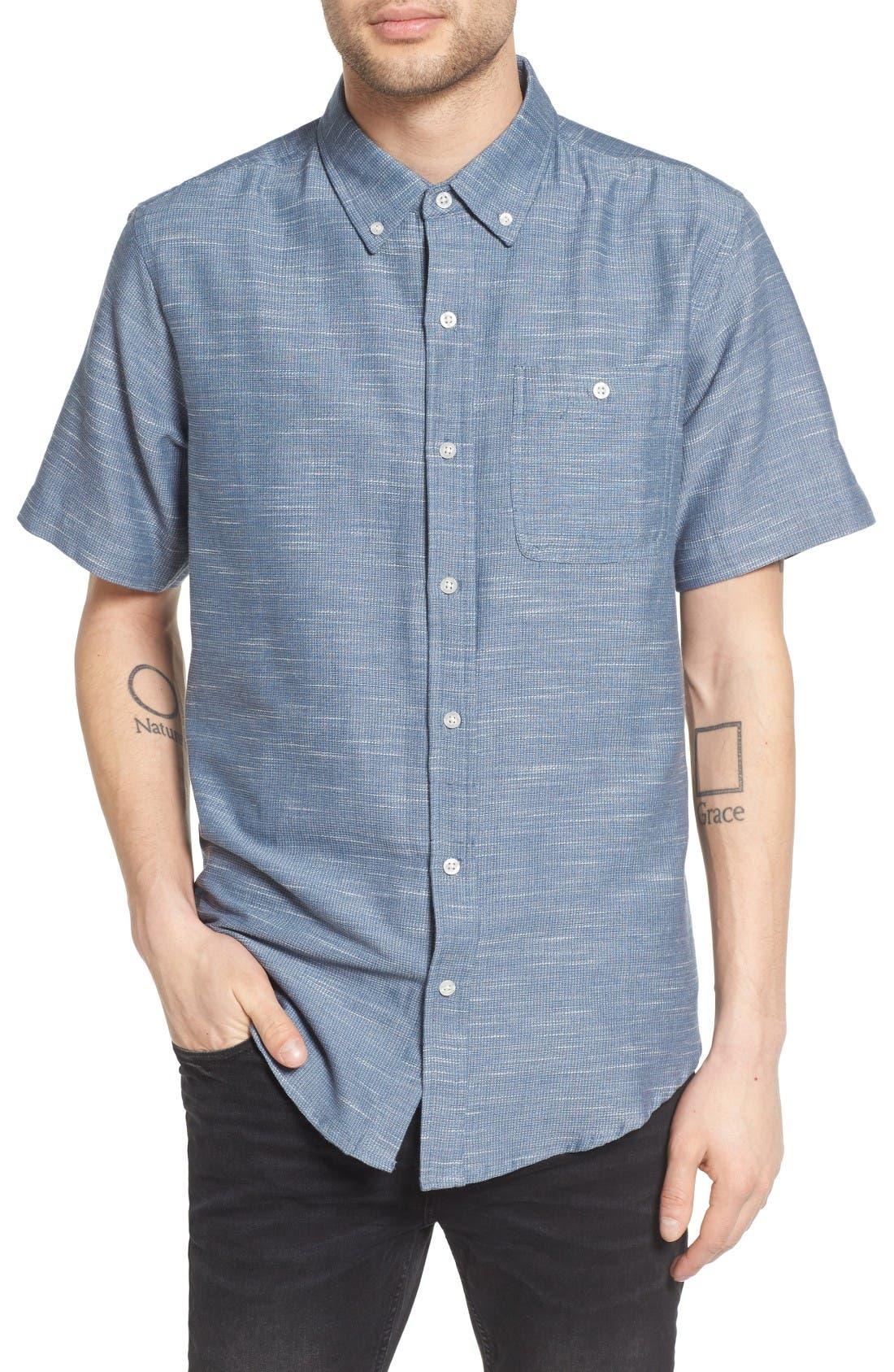 Ezekiel Textured Woven Shirt