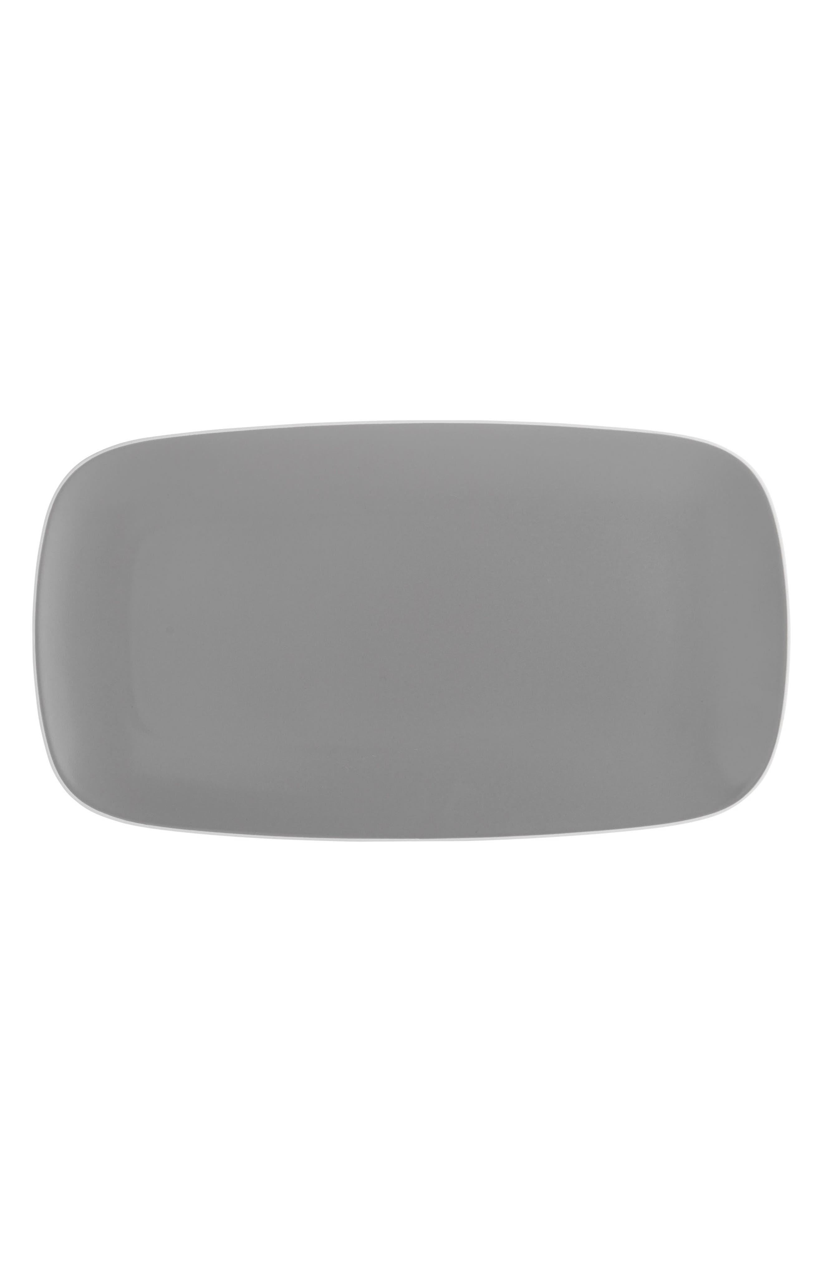 POP Rectangular Platter,                         Main,                         color, Slate