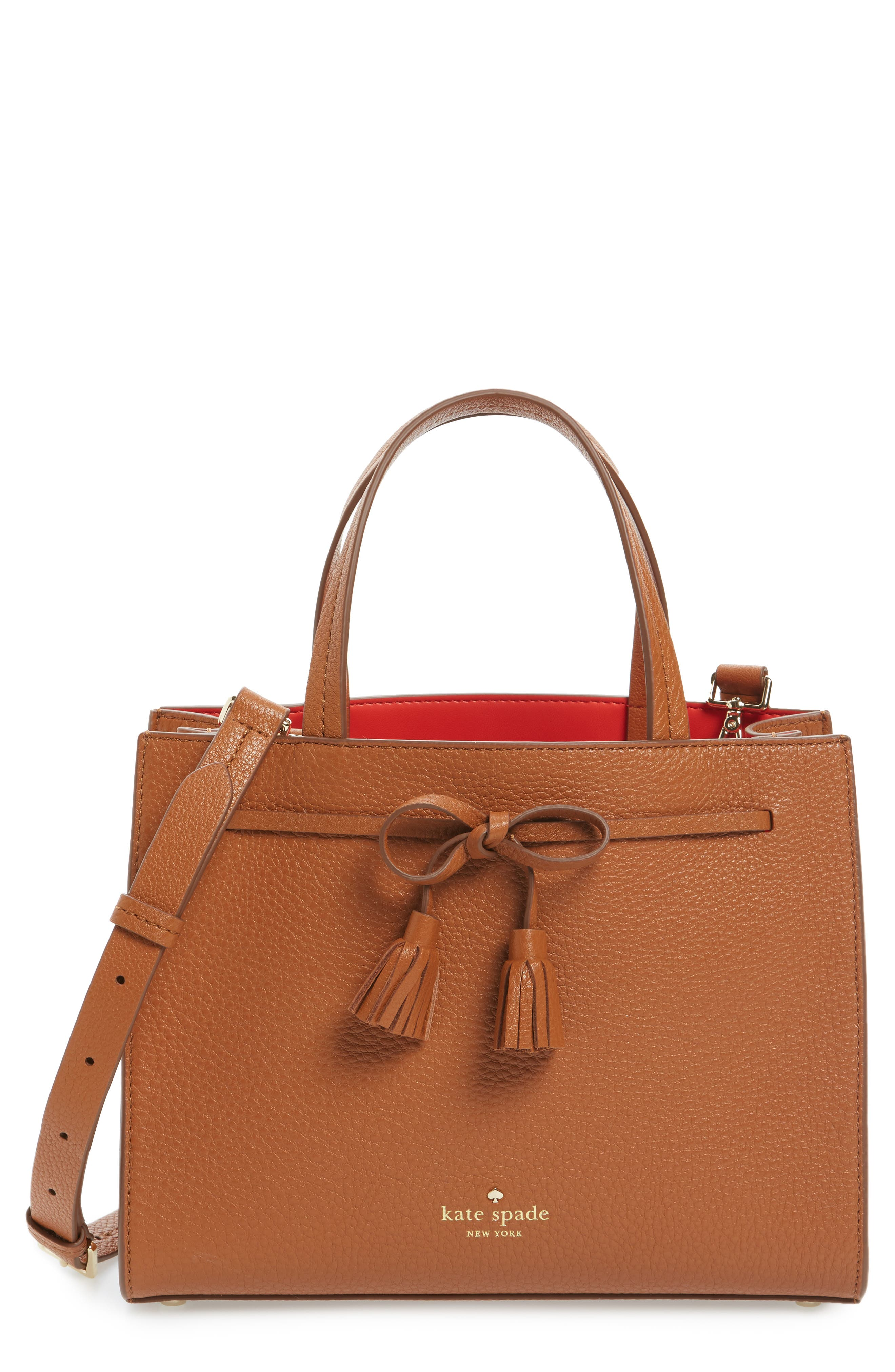 Main Image - kate spade new york hayes street small isobel leather satchel