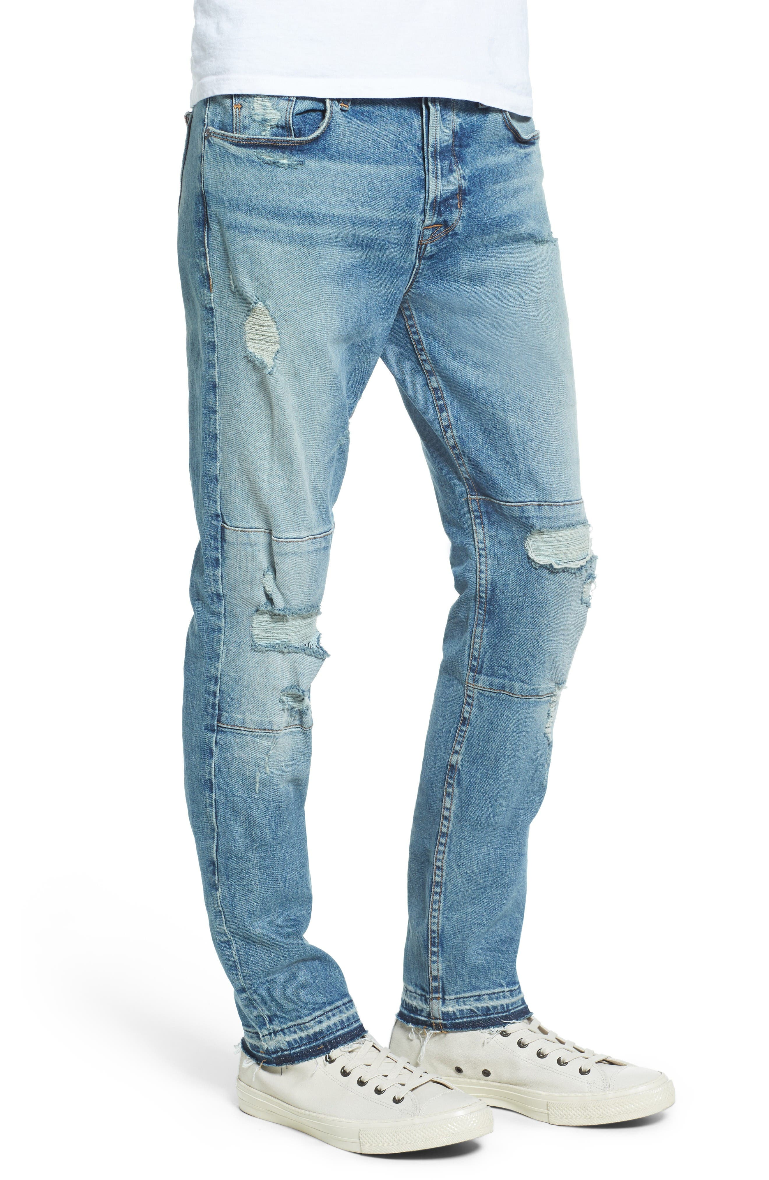 Alternate Image 3  - Hudson Jeans Blinder Biker Skinny Fit Jeans