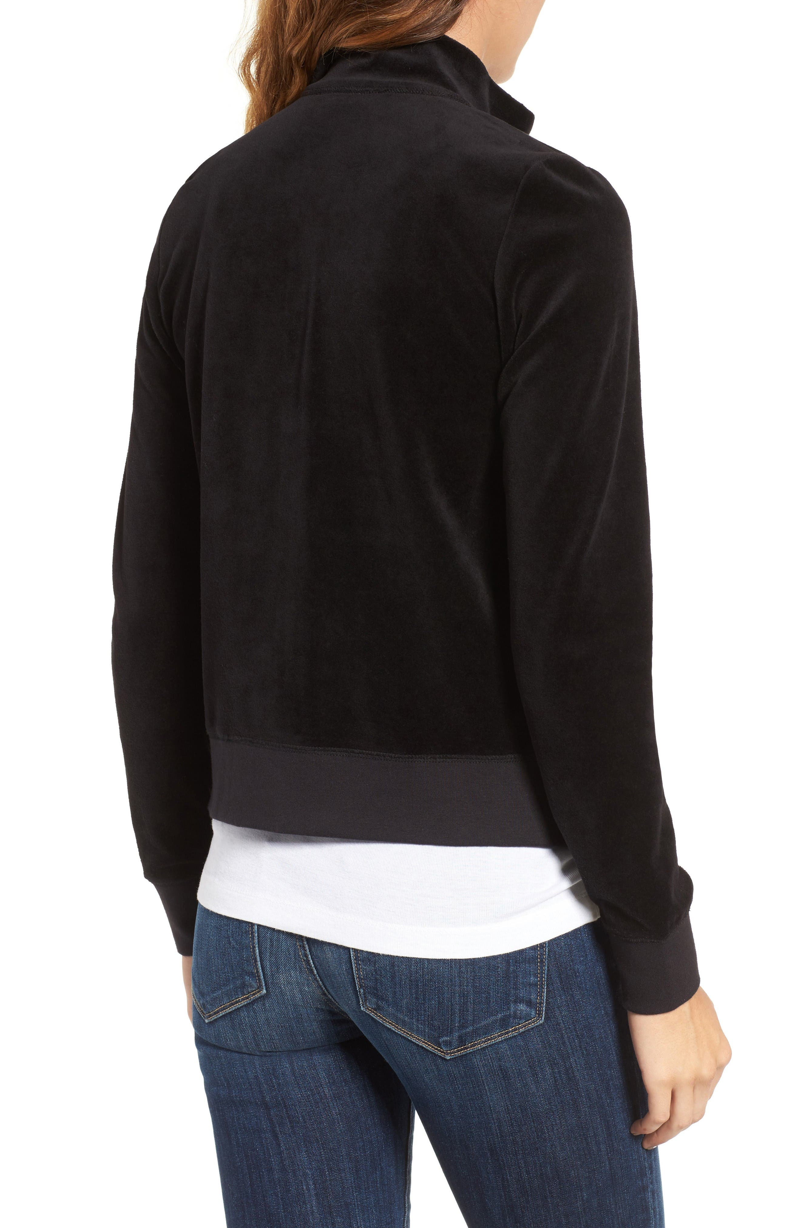 Alternate Image 2  - Juicy Couture Fairfax Terry Track Jacket