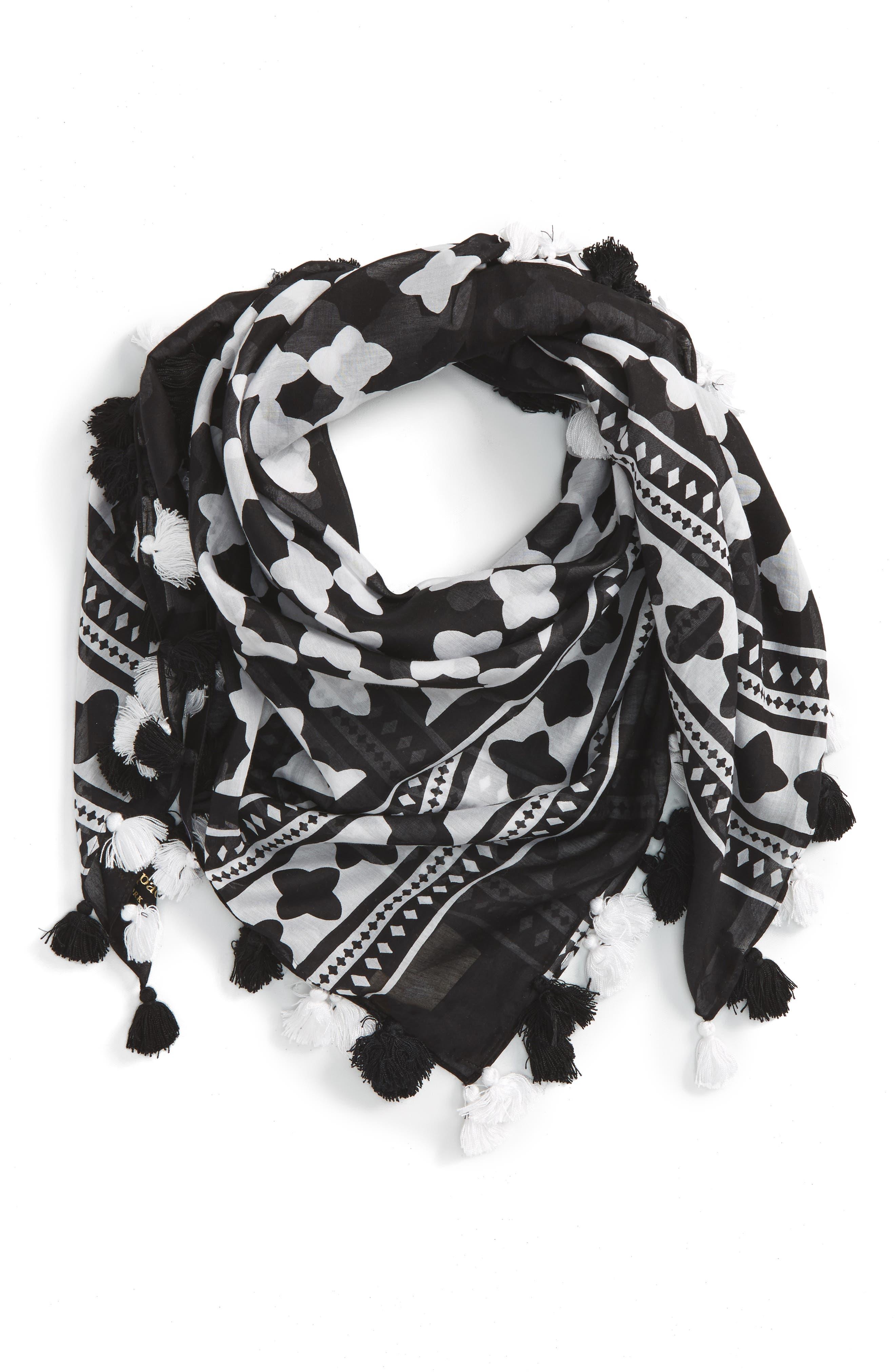 Alternate Image 1 Selected - kate spade new york lantern square scarf