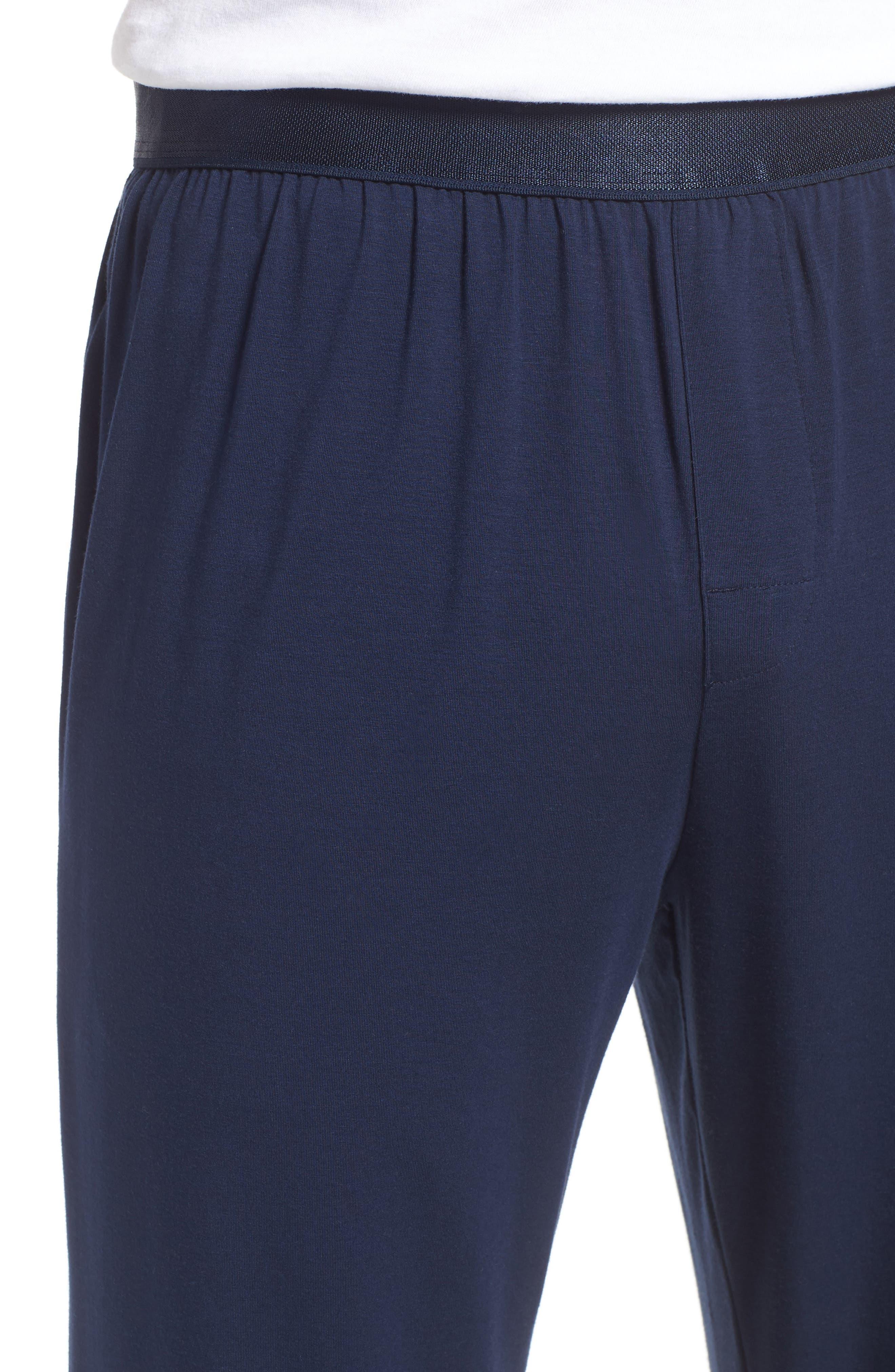 Alternate Image 4  - Nordstrom Men's Shop Micromodal Blend Lounge Pants