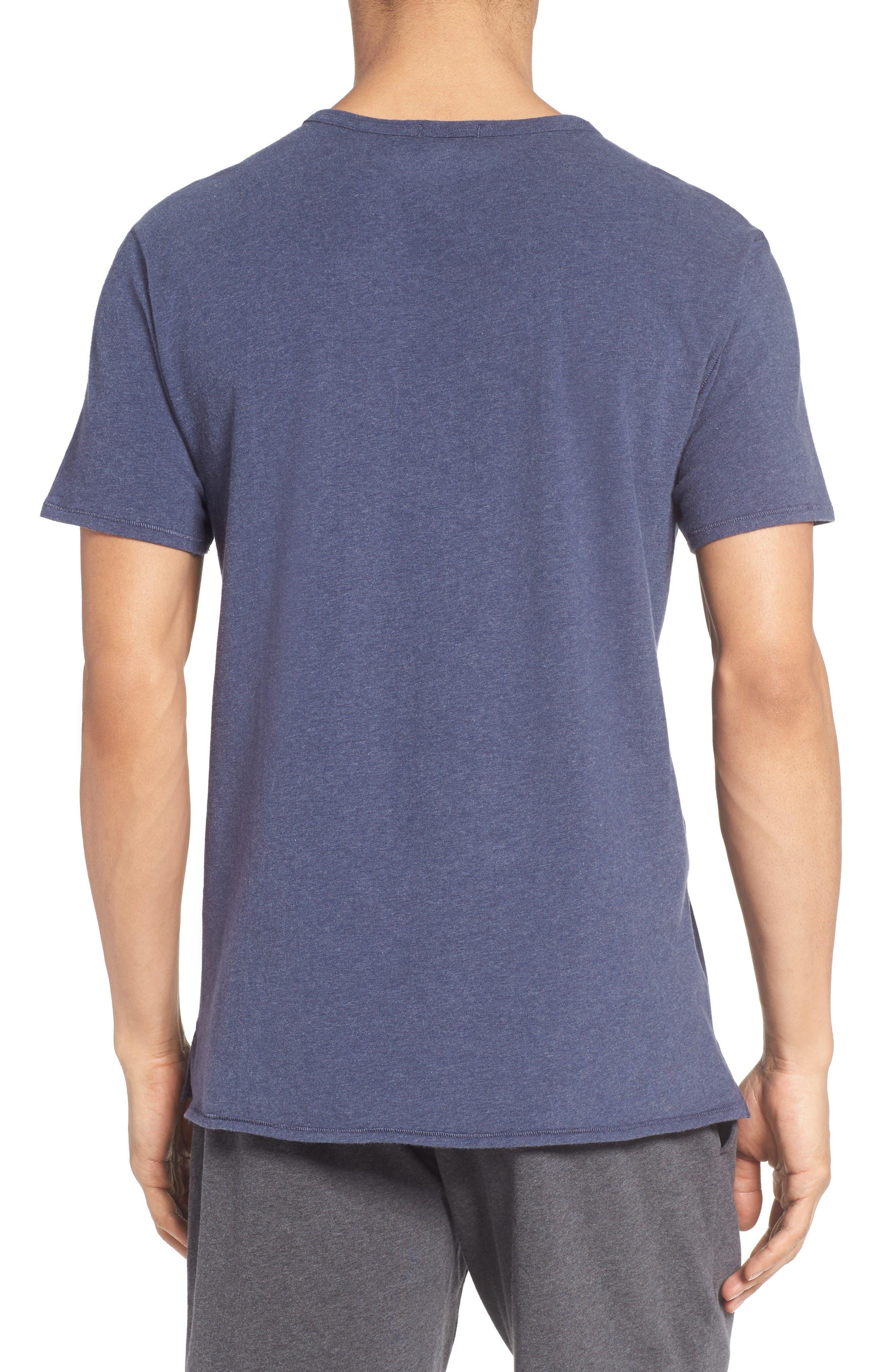 Alternate Image 2  - Nordstrom Men's Shop Stretch Cotton V-Neck T-Shirt