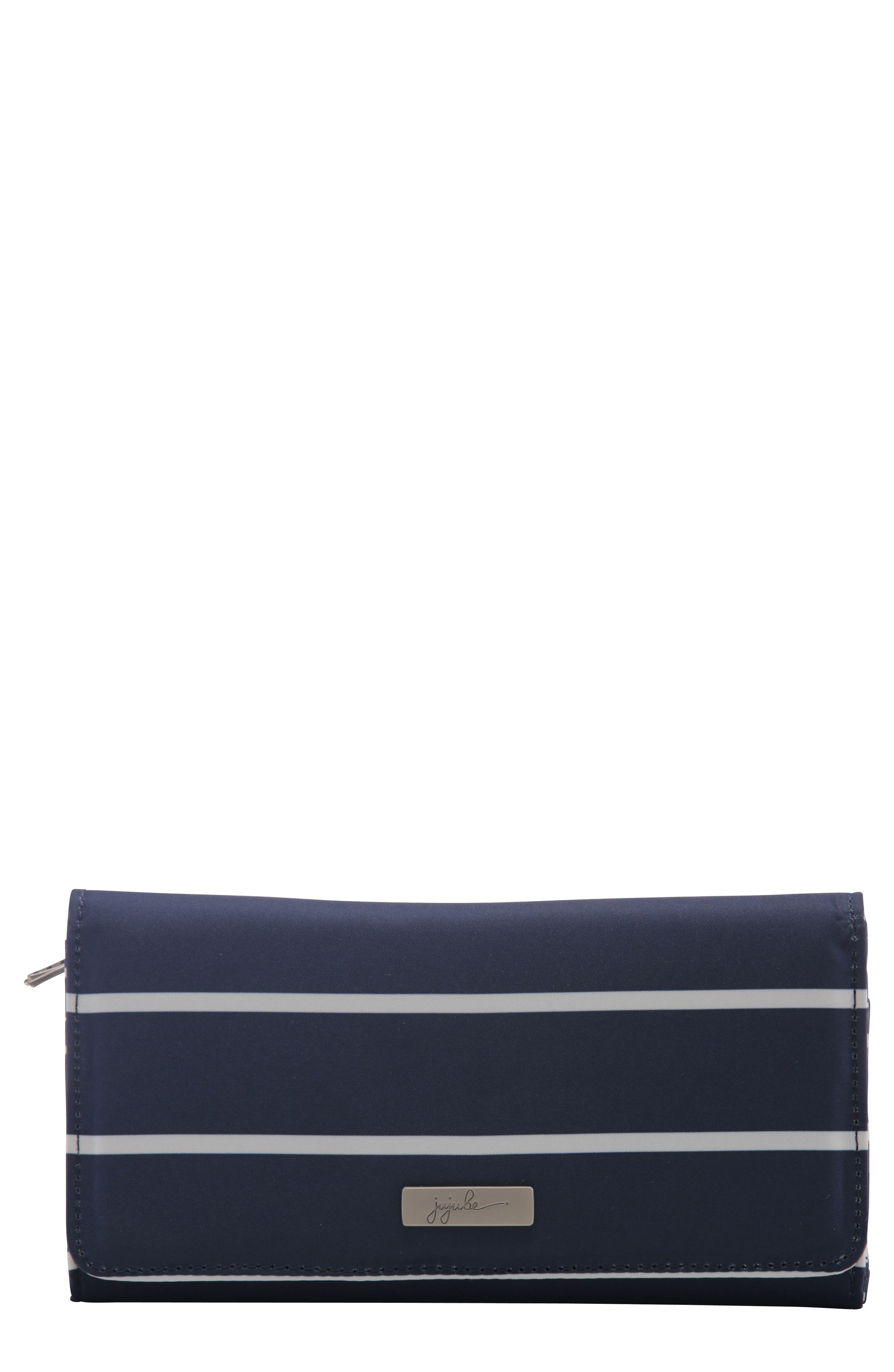 Be Rich - Coastal Collection Trifold Clutch Wallet,                             Main thumbnail 1, color,                             Nantucket