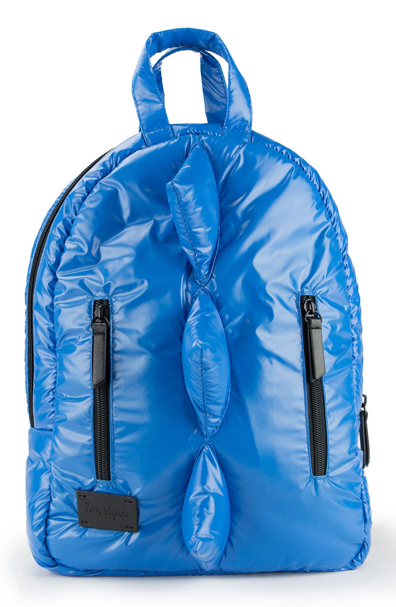 Dino Water Repellent Mini Backpack,                         Main,                         color, Electric Blue