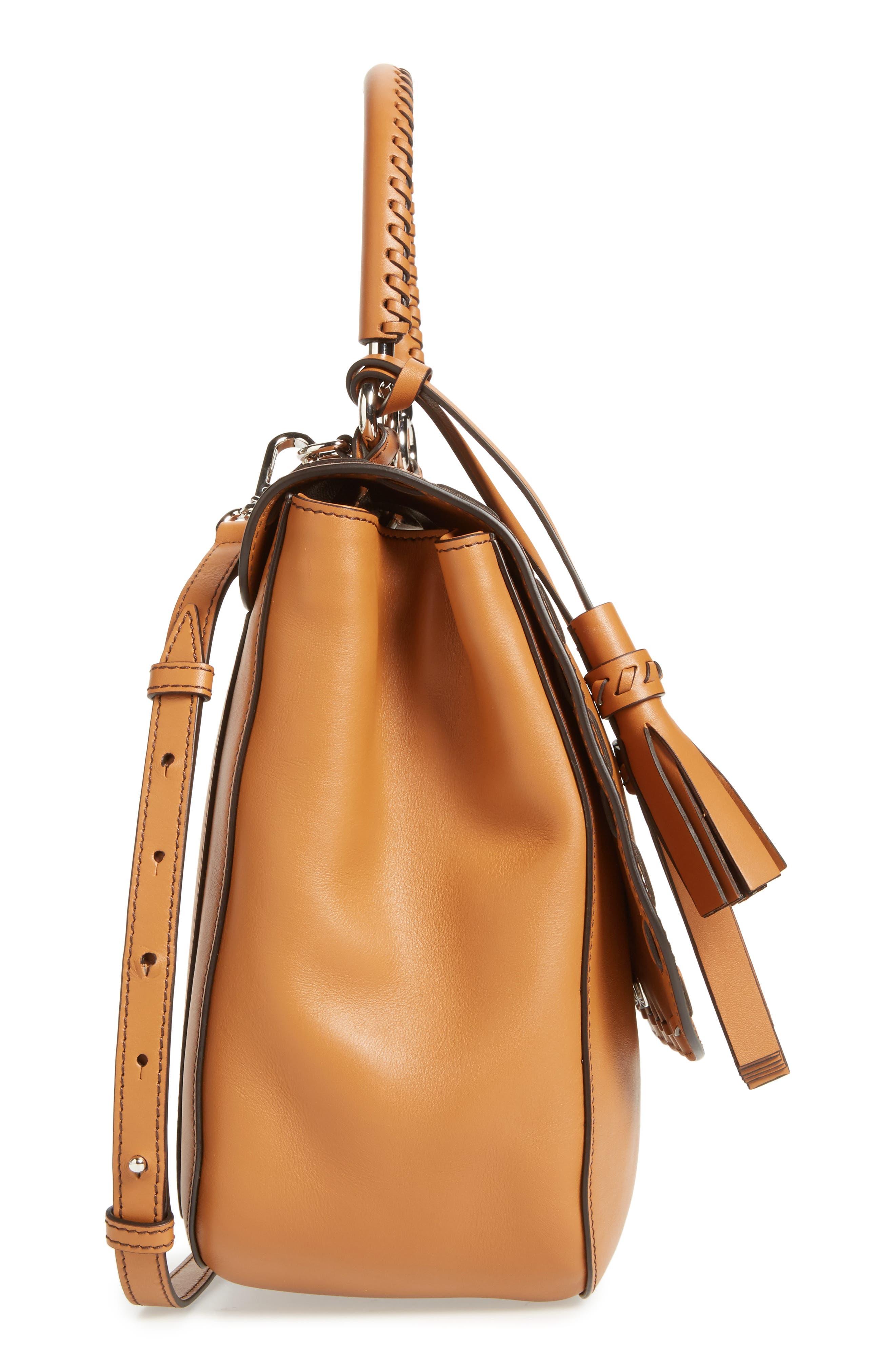 Alternate Image 5  - Max Mara BoBag Leather Satchel