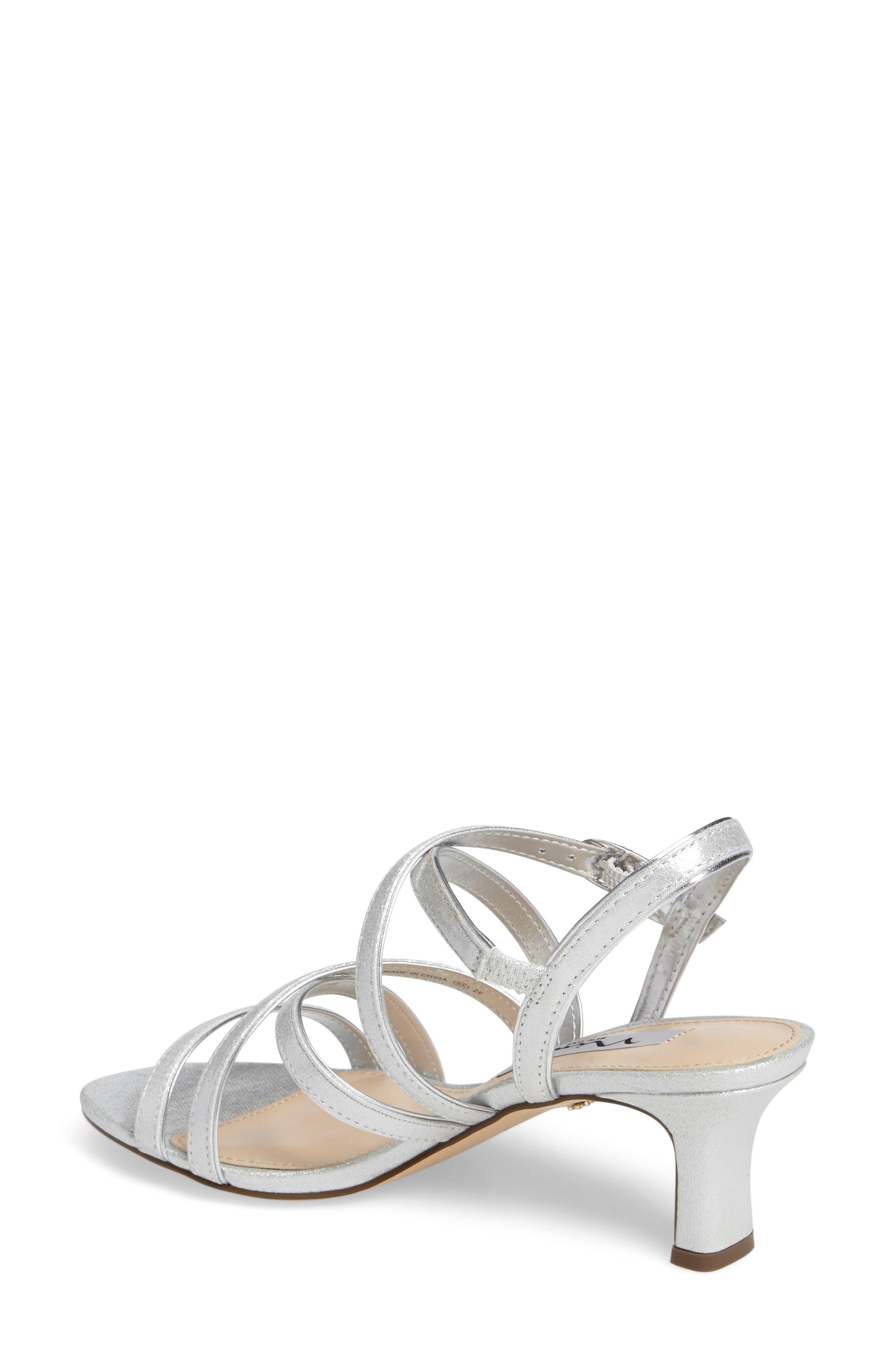 Alternate Image 2  - Nina Genaya Strappy Evening Sandal (Women)