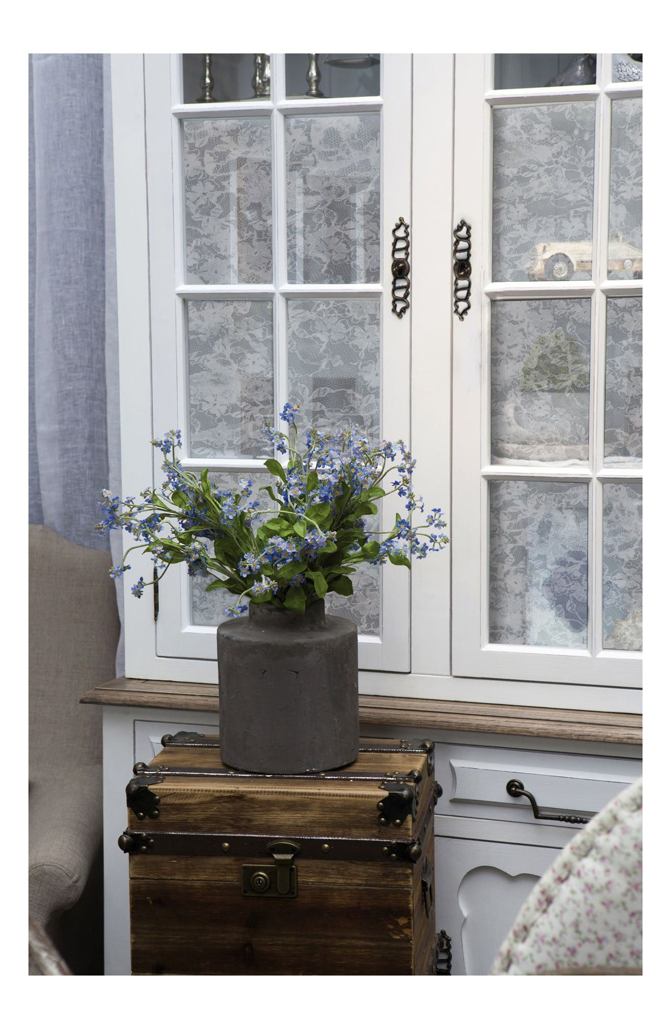 Alternate Image 2  - Wallpops Lace  Peel & Stick Vinyl Window Cling
