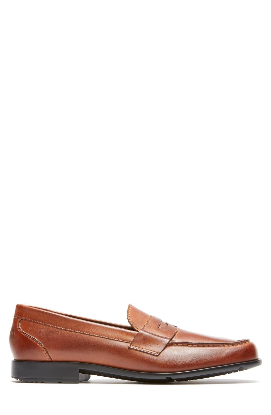 Alternate Image 3  - Rockport Leather Penny Loafer (Men)