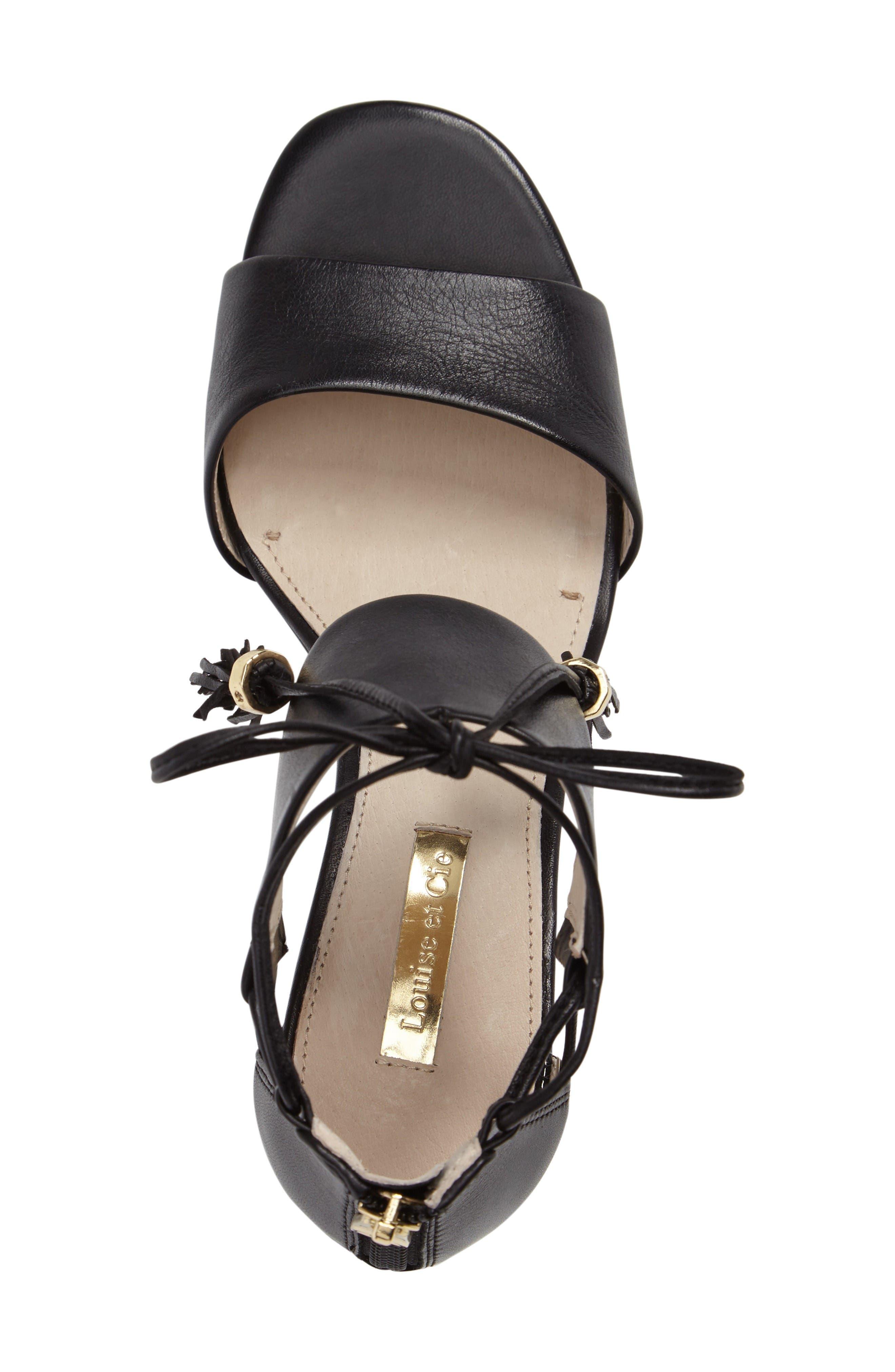 Alternate Image 3  - Louise et Cie Keegan Block Heel Sandal (Women)