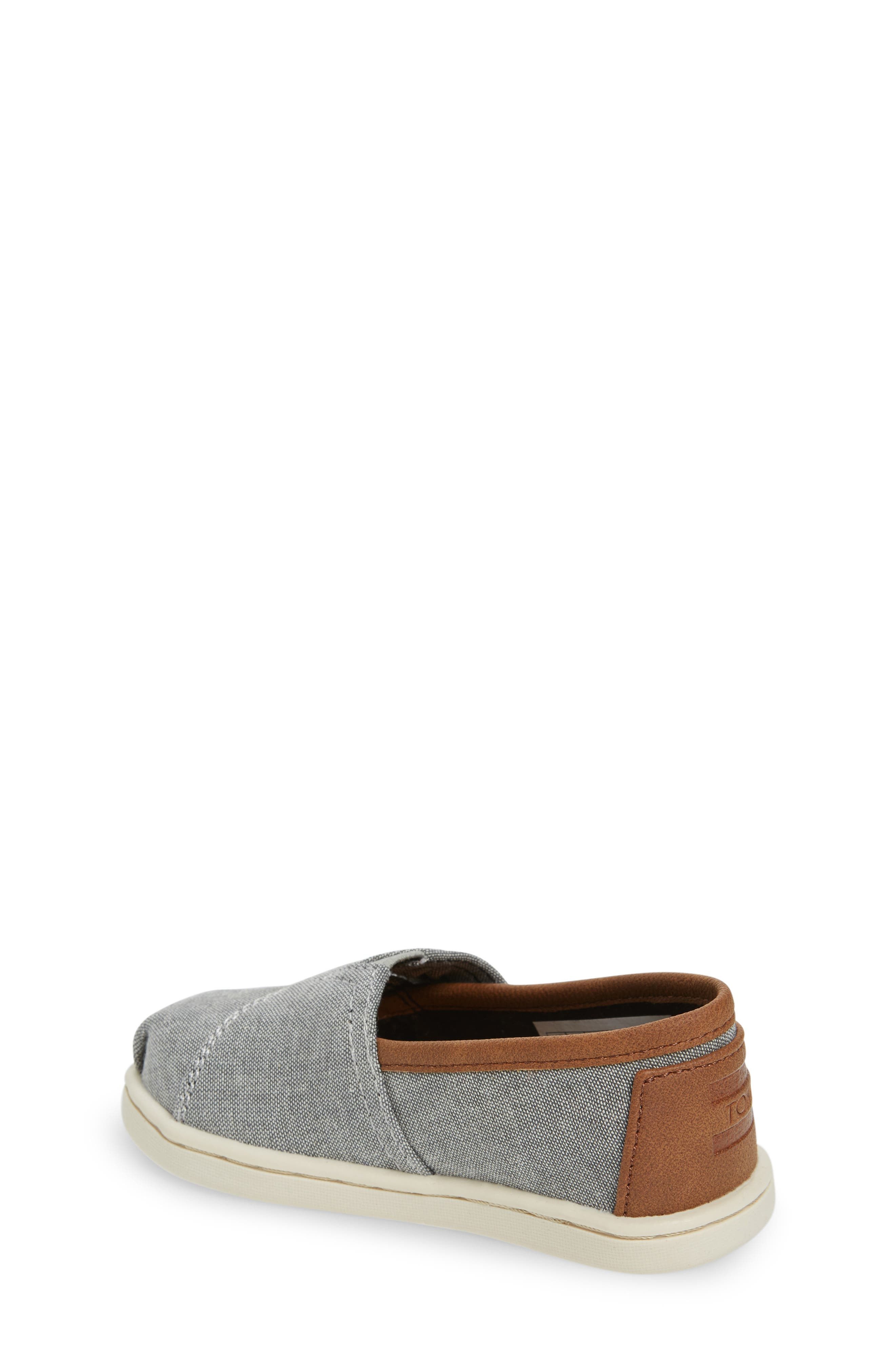 with toms shoes kids on slip grey for are cribs tiny coated adjustable sneakers ages paseo linen ready crib drizzle a adventure closure pin