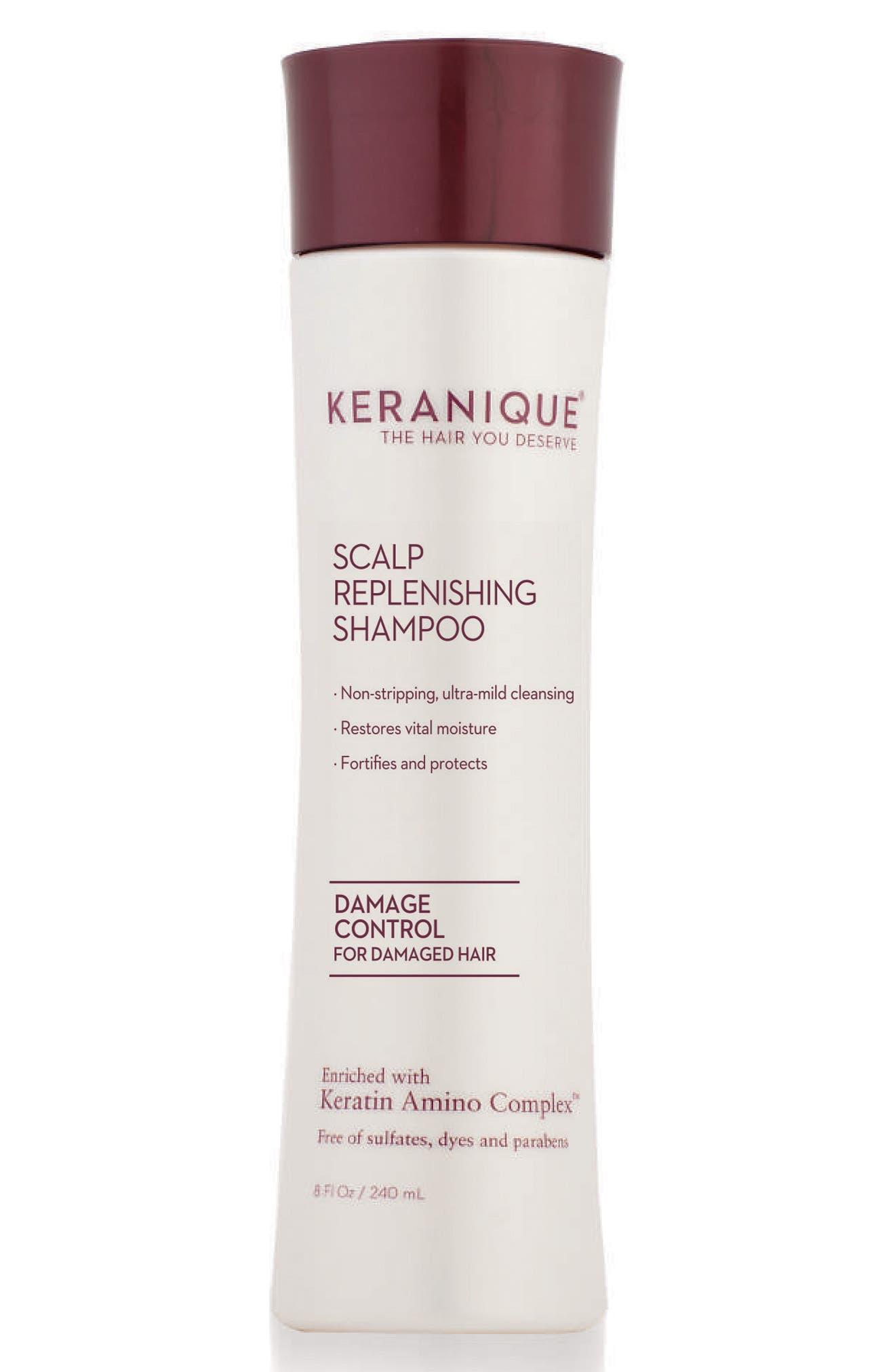 Alternate Image 1 Selected - Keranique Scalp Replenishing Shampoo Damage Control