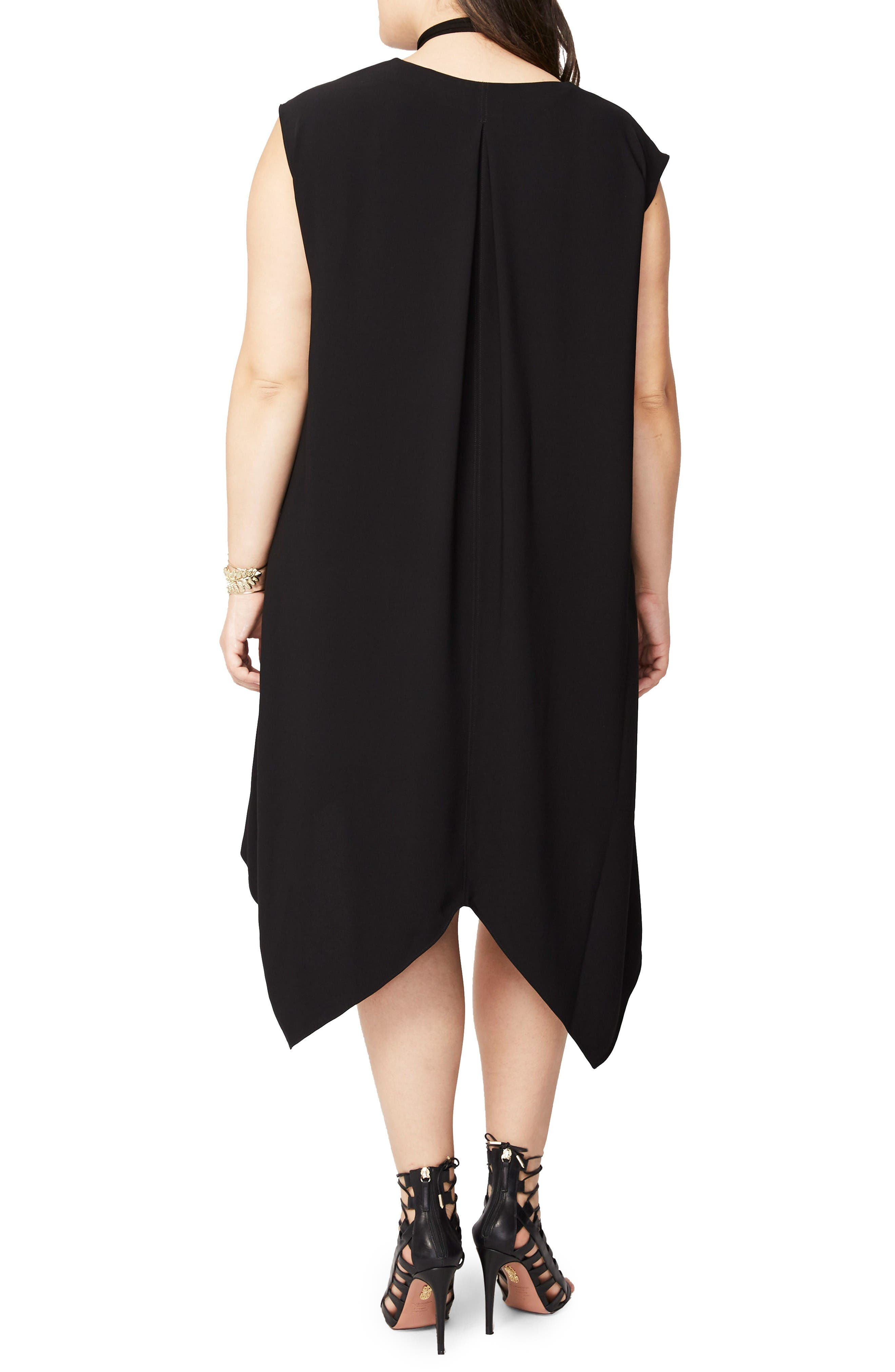 Alternate Image 2  - RACHEL Rachel Roy Sydney High/Low Dress (Plus Size)