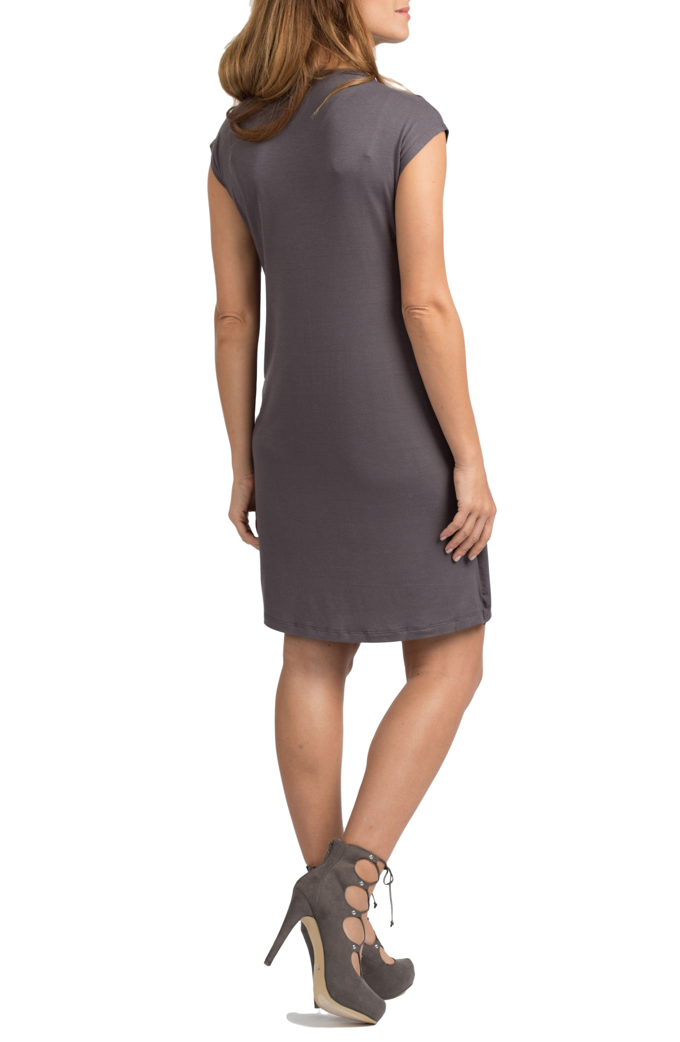 Alternate Image 2  - Savi Mom Lille Maternity/Nursing Tunic Dress