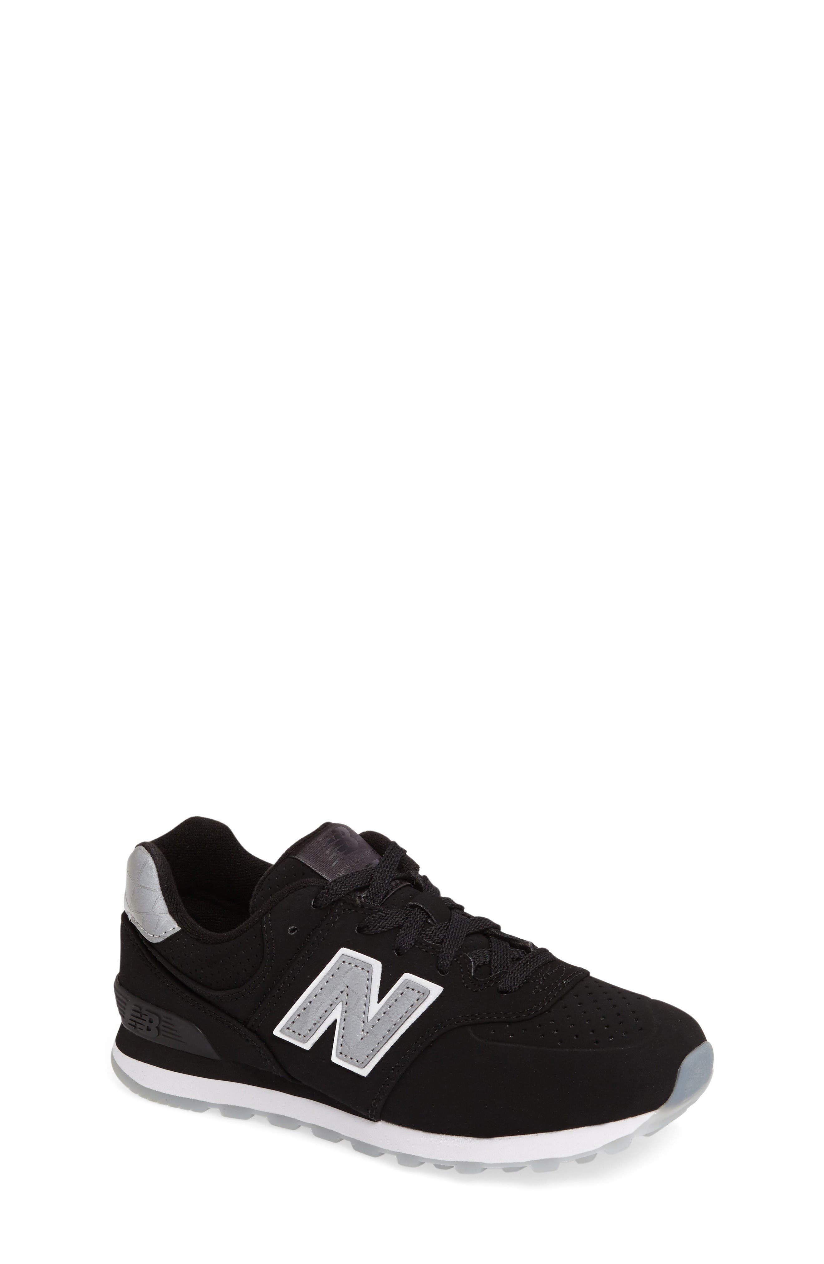 Alternate Image 1 Selected - New Balance 574 Core Plus Sneaker (Baby, Walker, Toddler, Little Kid, Big Kid)