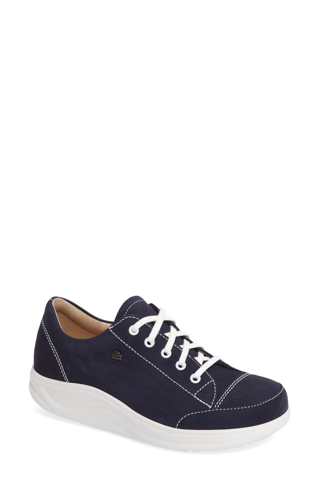 FINNAMIC by Finn Comfort 'Ikebukuro' Walking Shoe,                         Main,                         color, Atlantic Leather