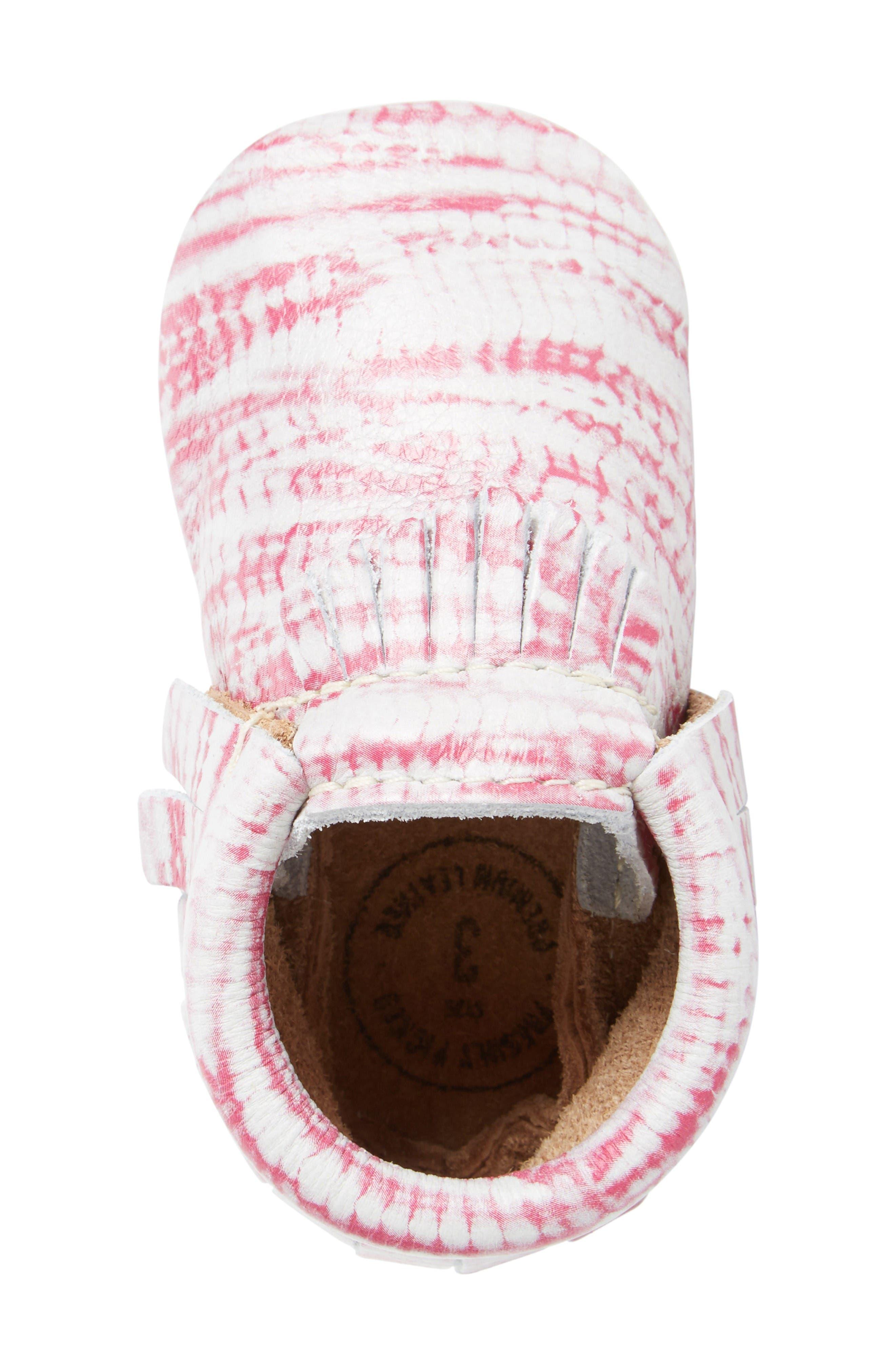 Alternate Image 5  - Freshly Picked Tie Dye Moccasin (Baby & Walker)