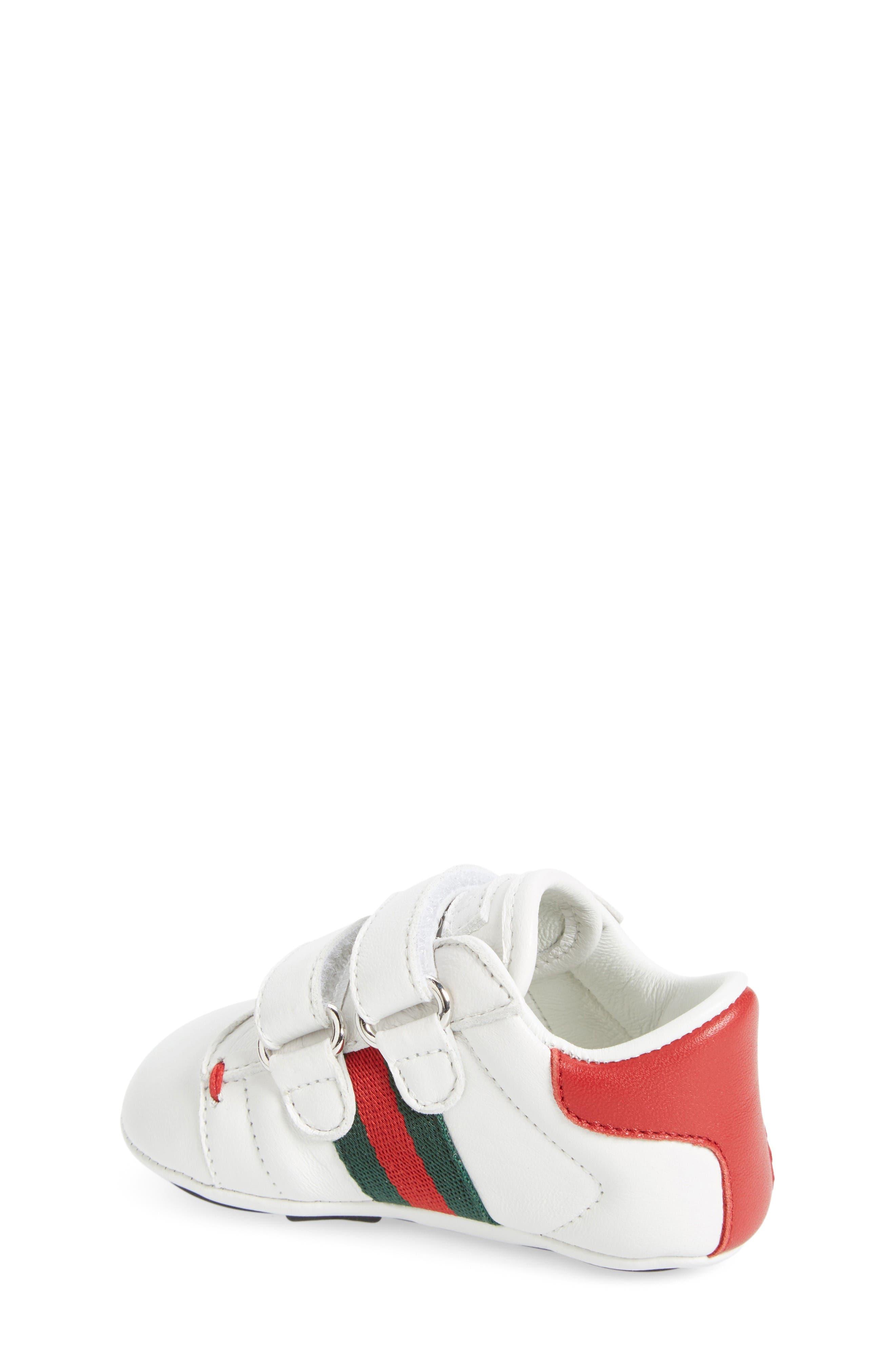 Alternate Image 2  - Gucci 'Ace' Crib Shoe (Baby)
