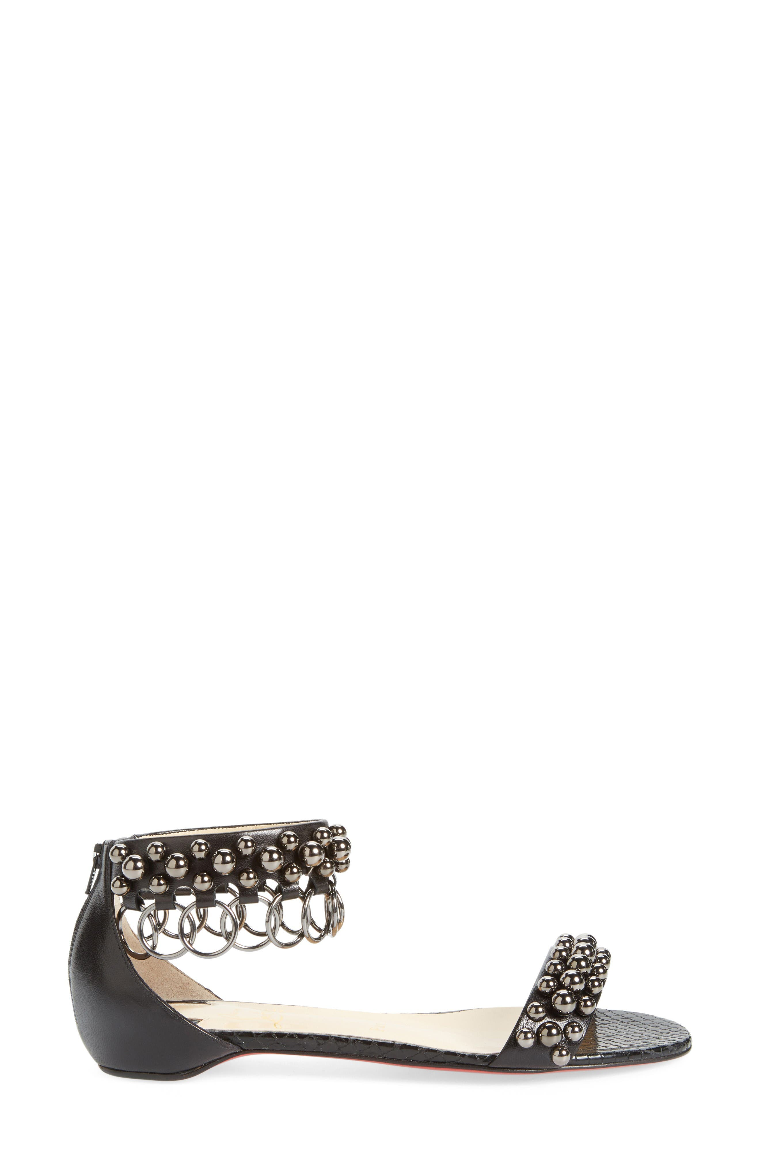 Alternate Image 3  - Christian Louboutin Gypso Ringlet Sandal