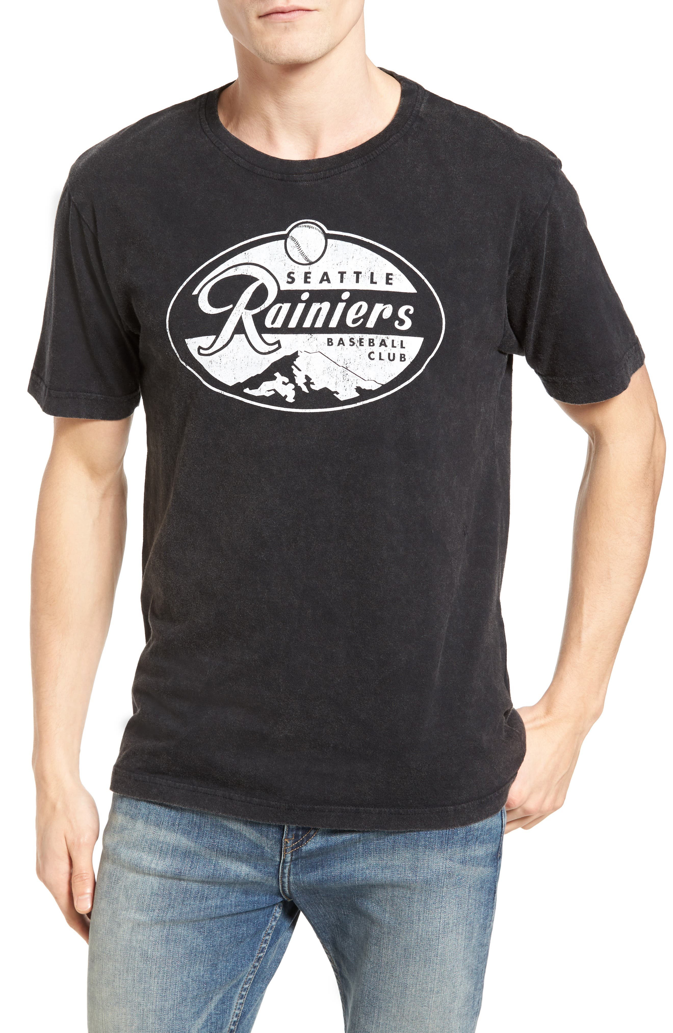 American Needle Brass Tack Seattle Rainiers T-Shirt