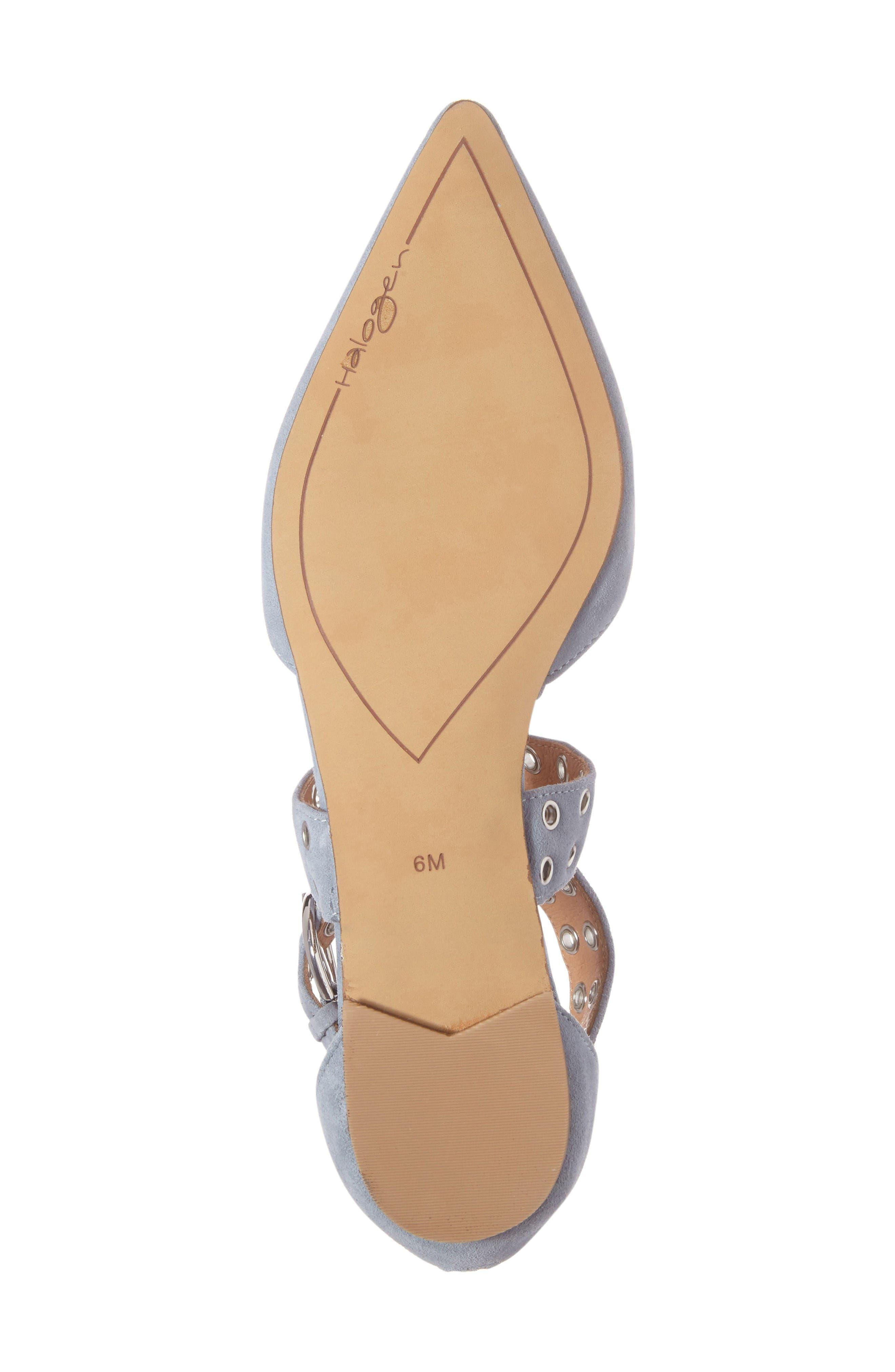 Alternate Image 6  - Halogen® Molly Pointy Toe Flat (Women)