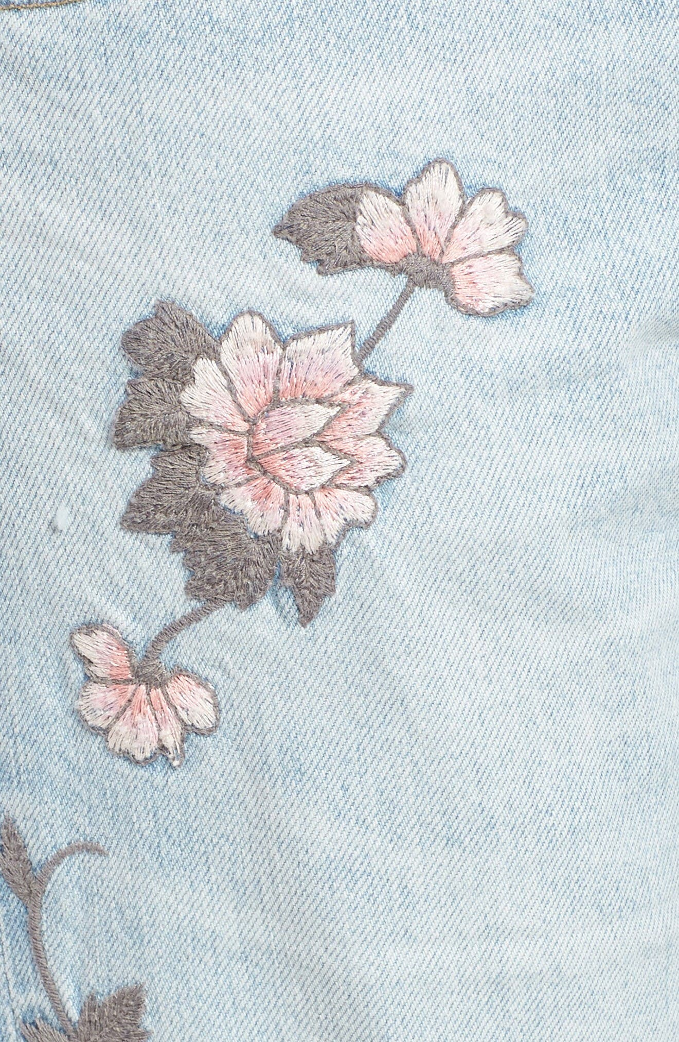 Alternate Image 6  - Citizens of Humanity Emerson Slim Boyfriend Jeans (Distressed Rock on Roses)