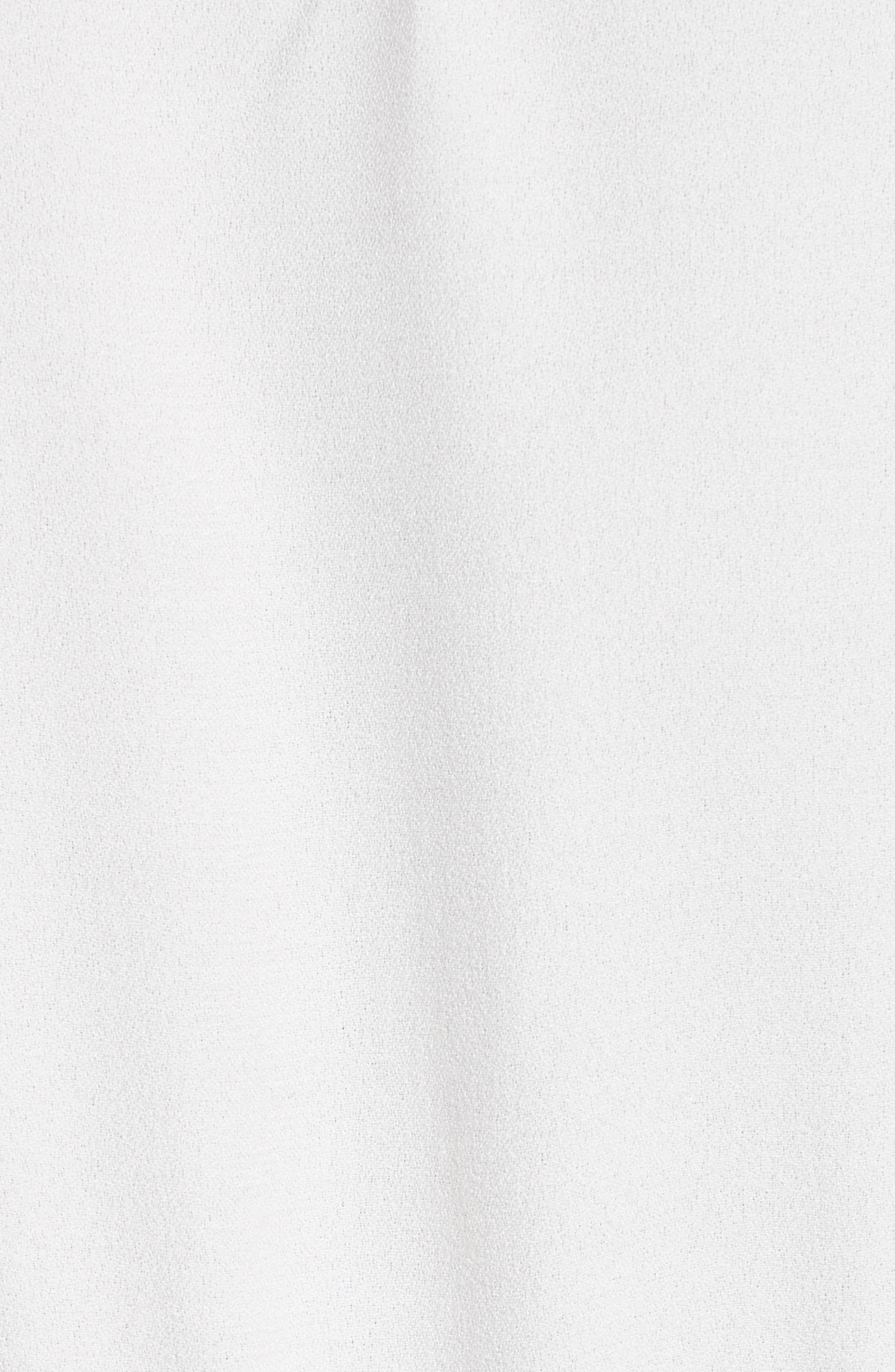 Alternate Image 5  - FRAME Pleated Eyelet Dress
