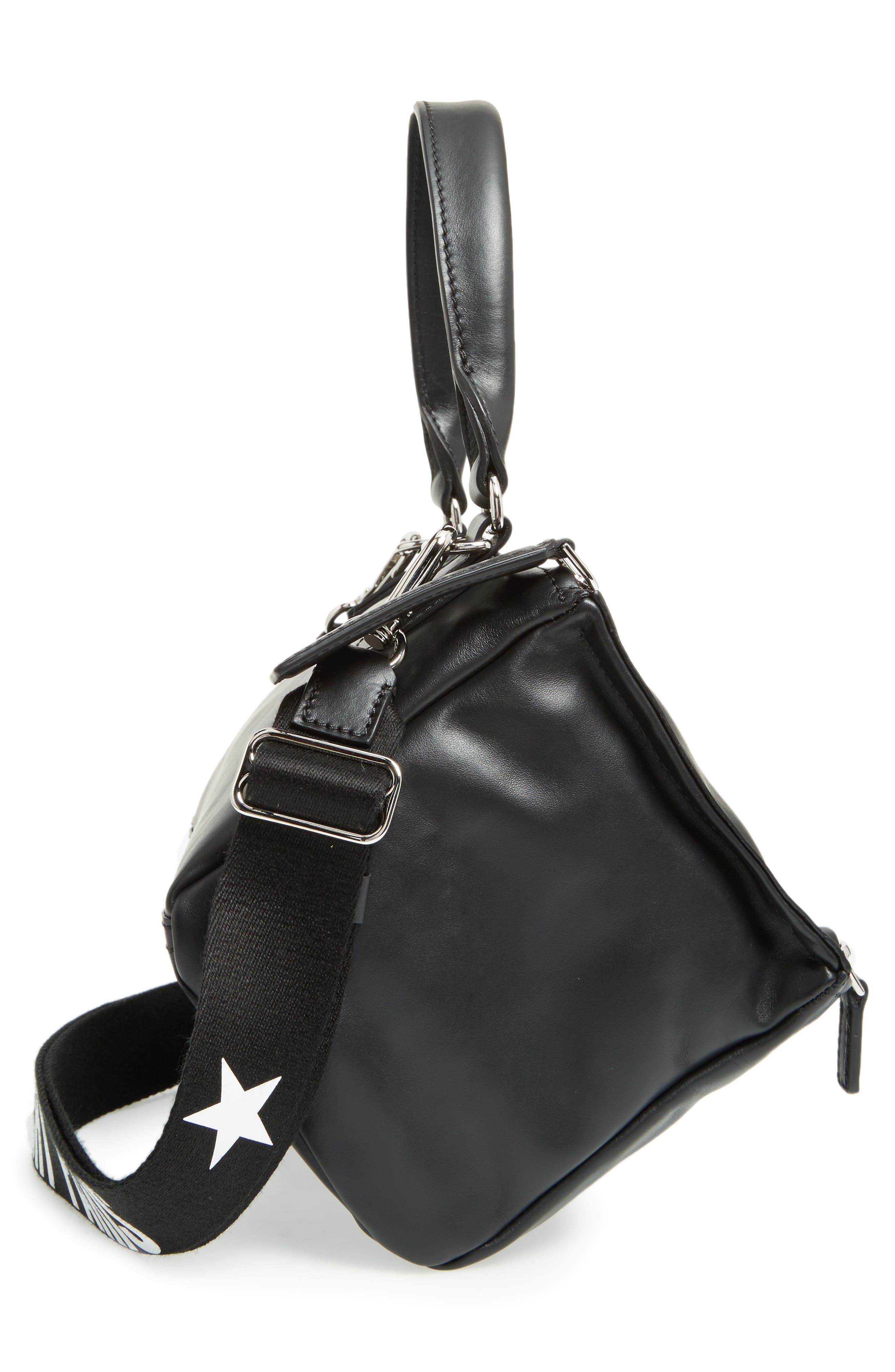 Alternate Image 5  - Givenchy Small Pandora - Logo Leather Satchel