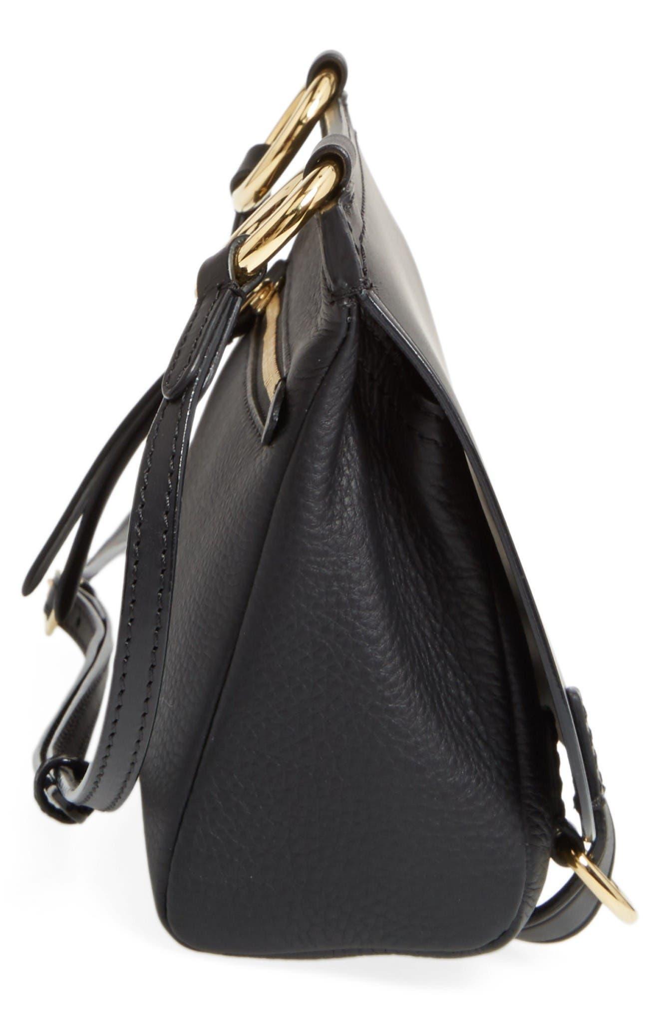 Alternate Image 5  - Burberry Bridle Leather Shoulder Bag