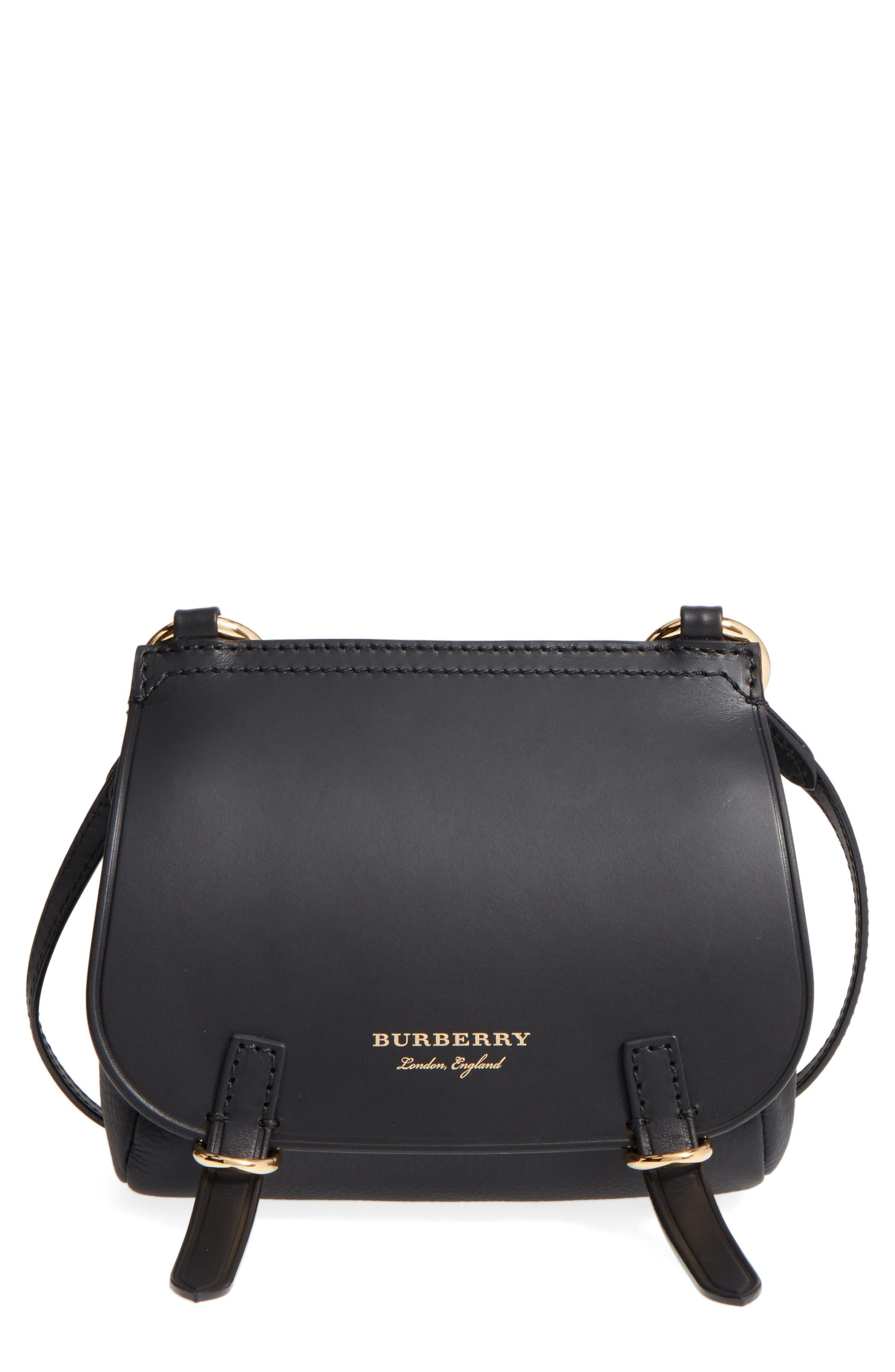 Alternate Image 1 Selected - Burberry Bridle Leather Shoulder Bag