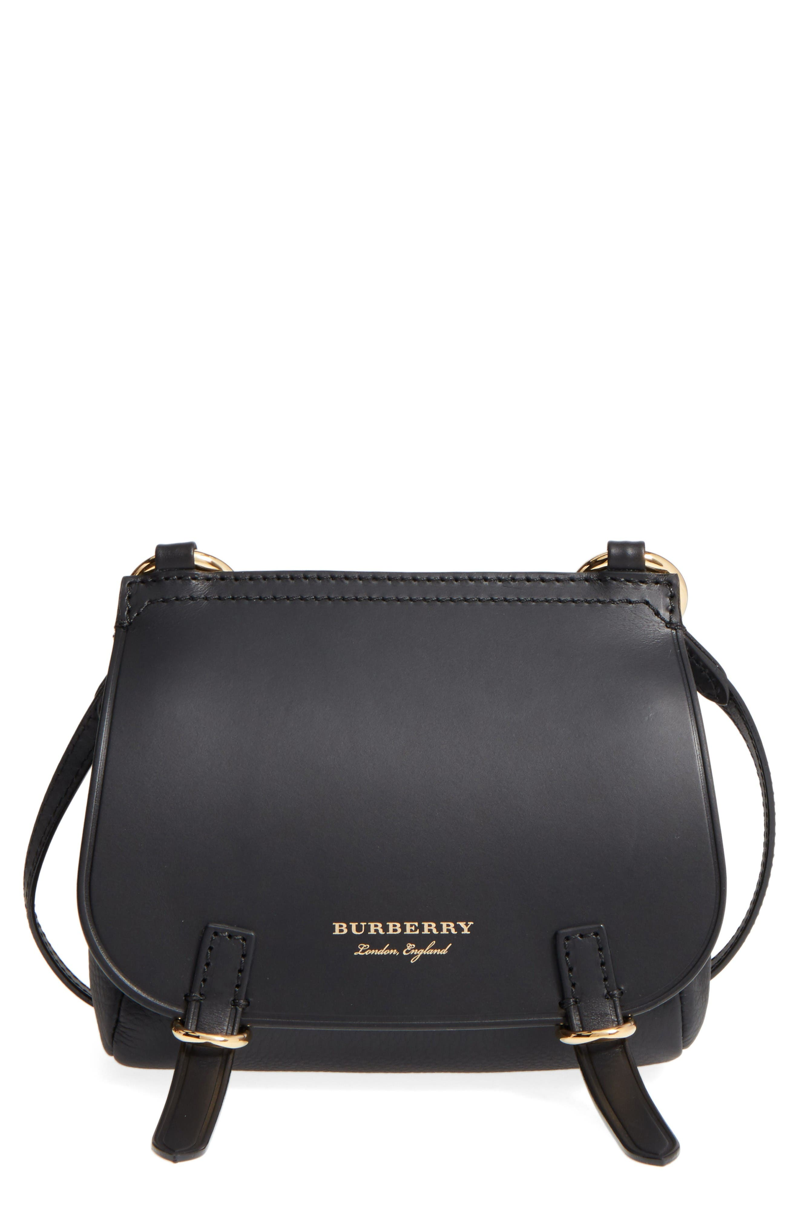 Burberry Bridle Leather Shoulder Bag