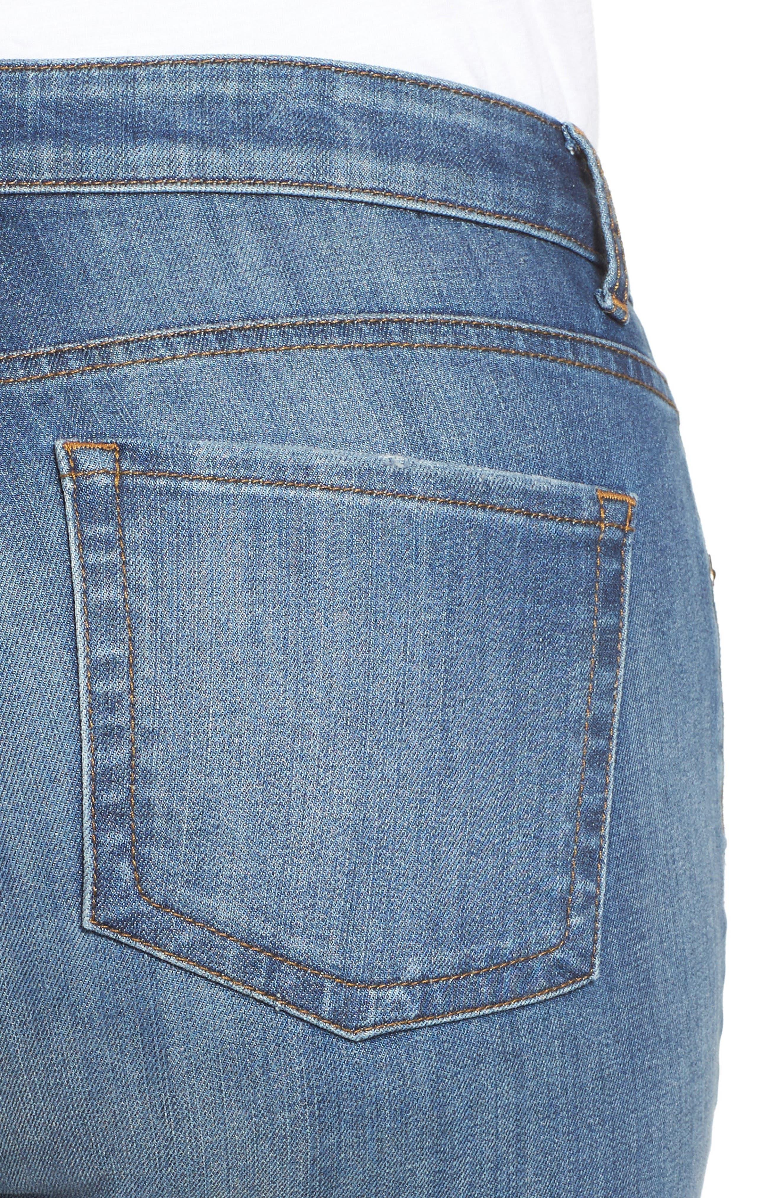 Alternate Image 5  - KUT from the Kloth Catherine Boyfriend Jeans (Doubtless) (Plus Size)