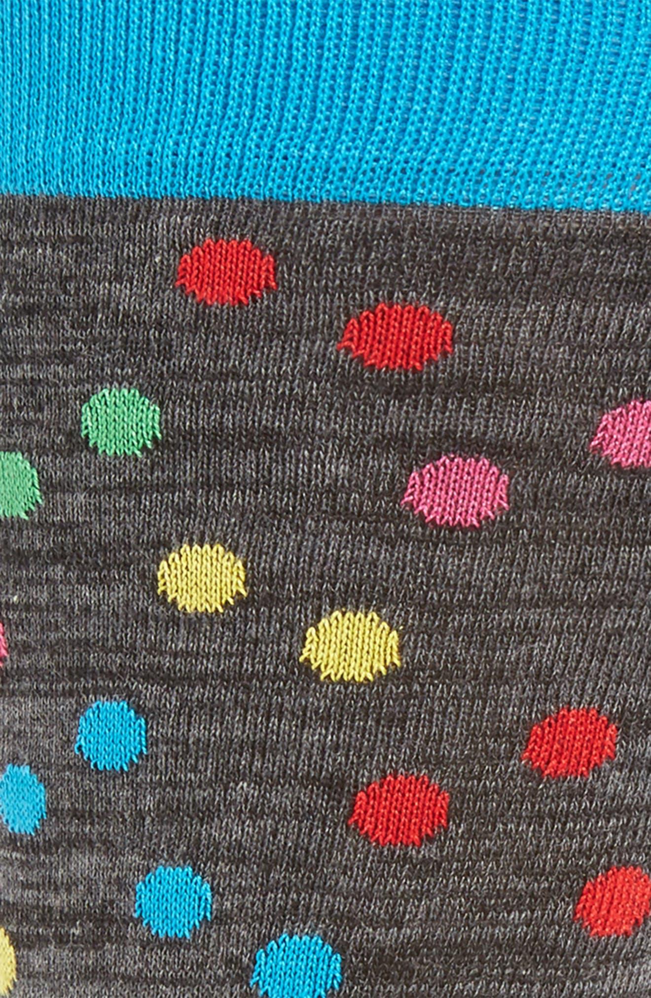 Alternate Image 2  - Bugatchi Polka Dot Socks