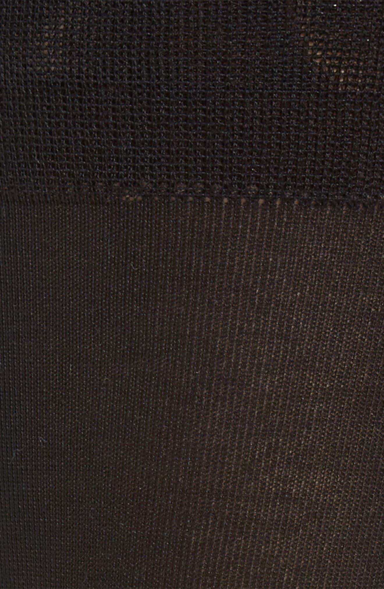 Socks,                             Alternate thumbnail 2, color,                             Black