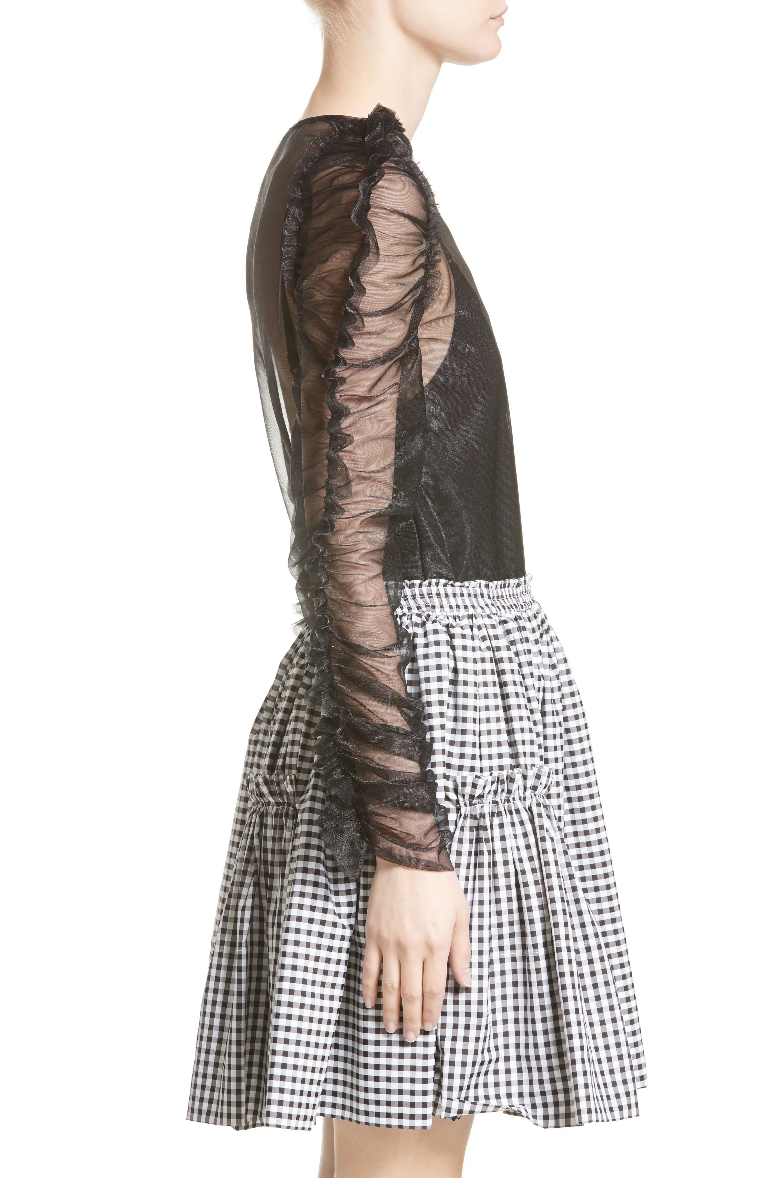 Alternate Image 5  - Molly Goddard Stanley Tulle Top