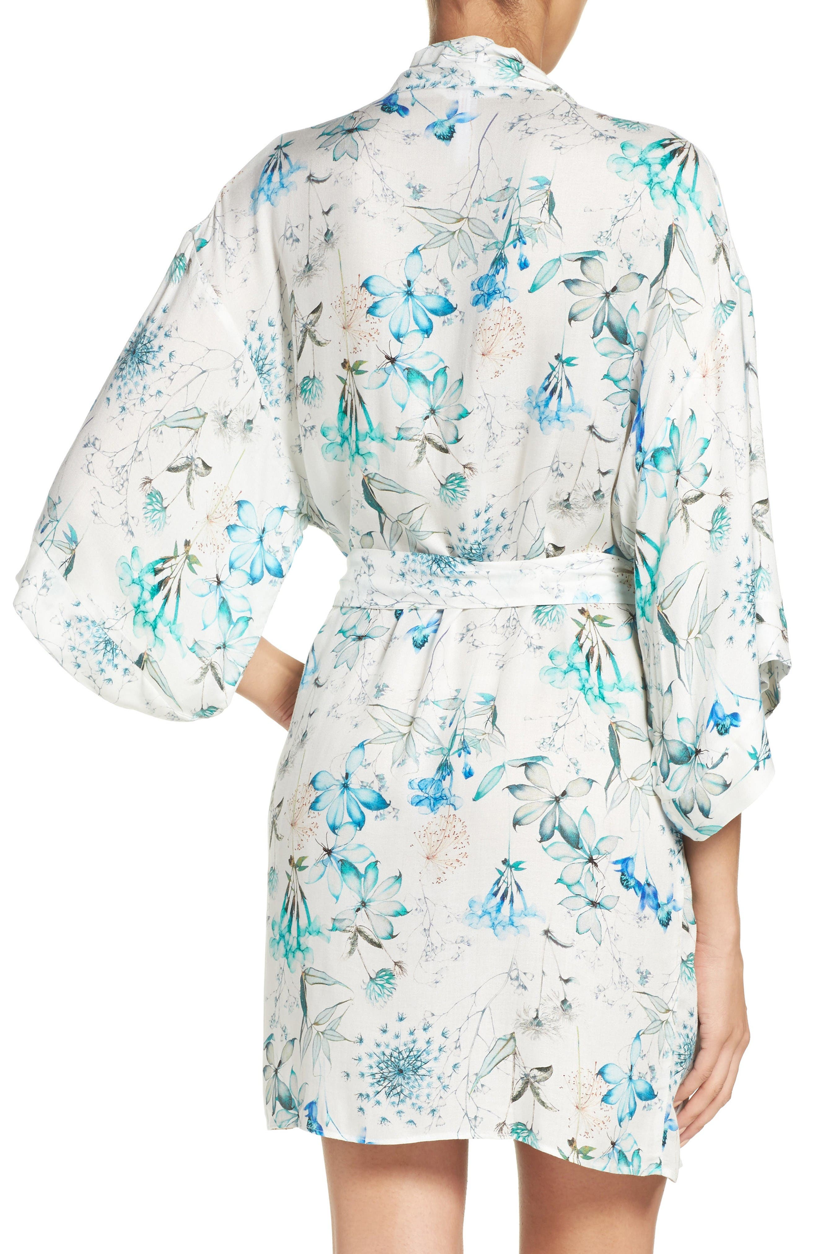 Delilah Kimono,                             Alternate thumbnail 2, color,                             Ivory