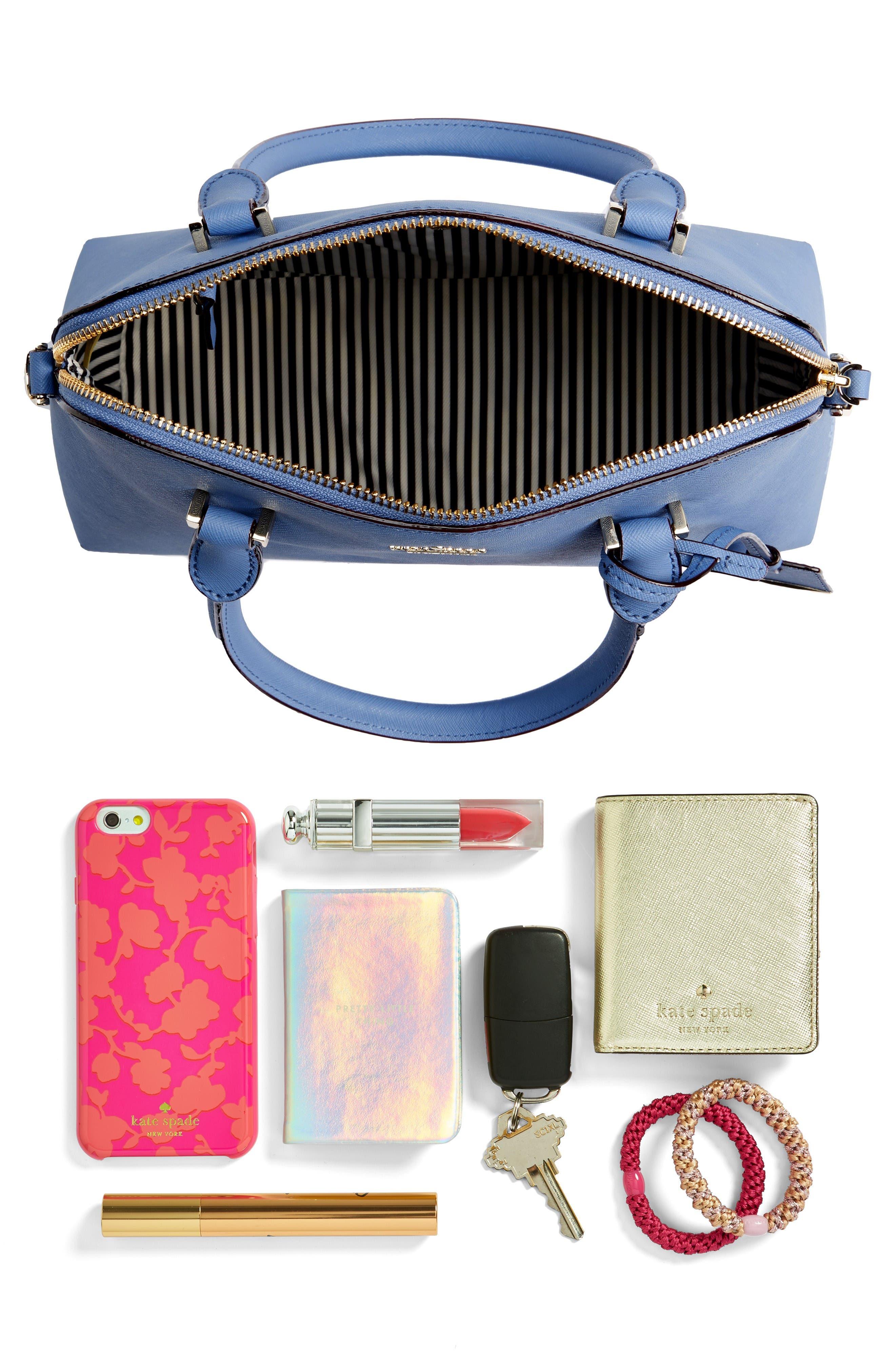 cameron street maise leather satchel,                             Alternate thumbnail 2, color,
