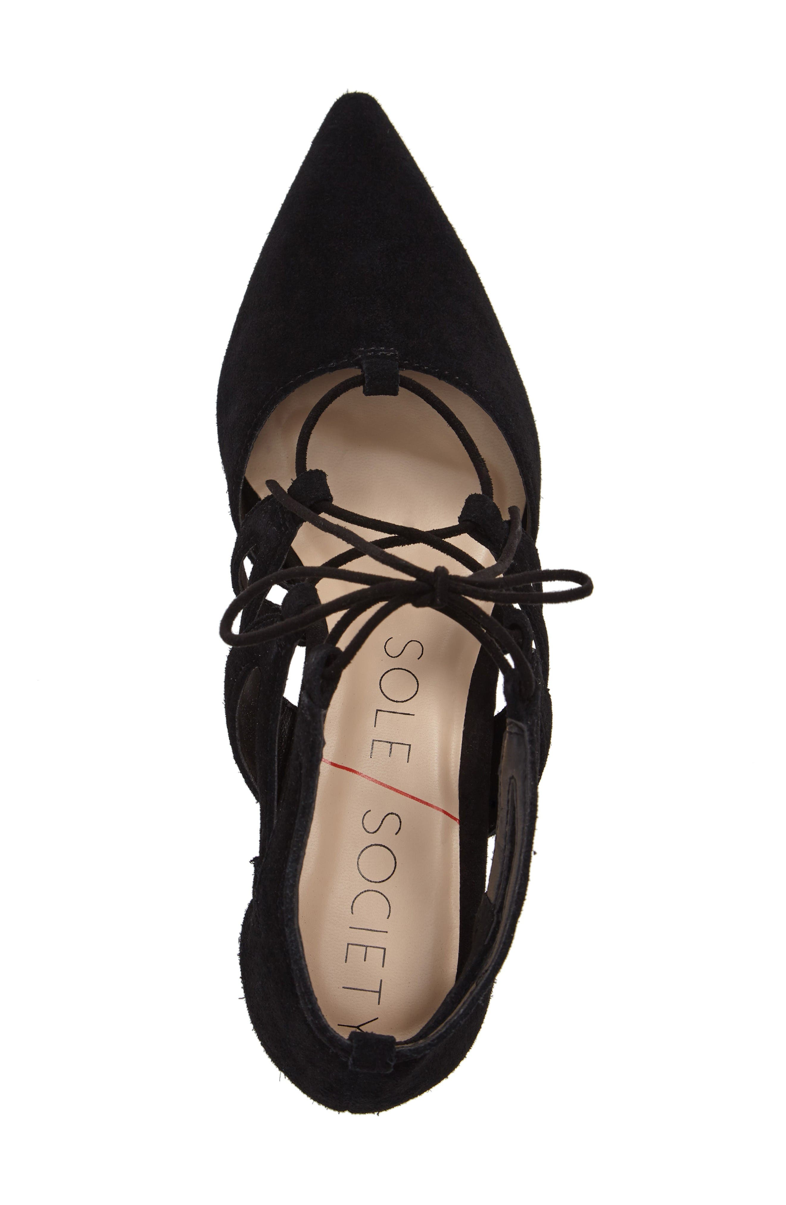 Alternate Image 5  - Sole Society Kitt Ghillie Lace Pump (Women)