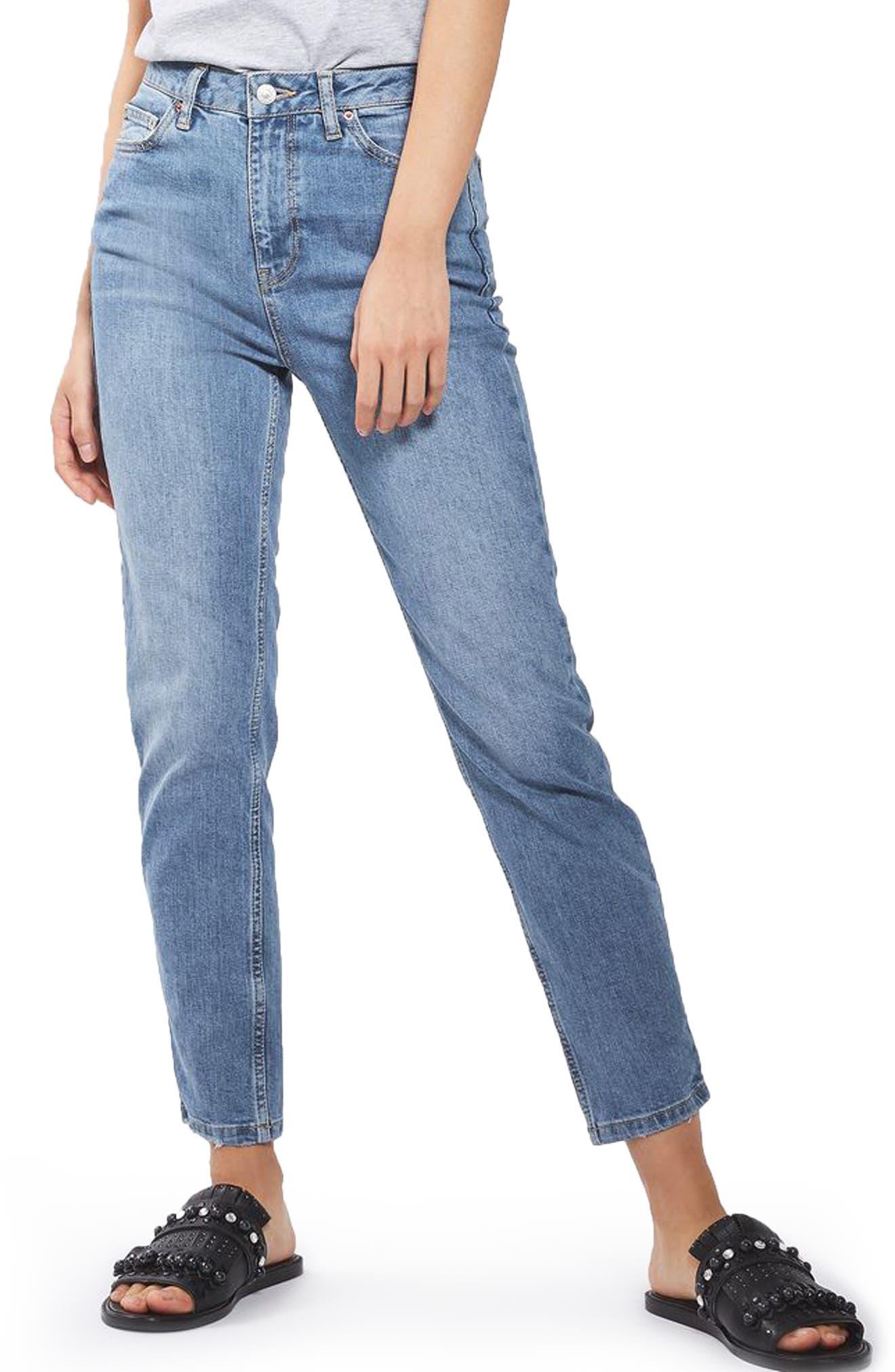 Orson Slim Fit Jeans,                         Main,                         color, Mid Denim